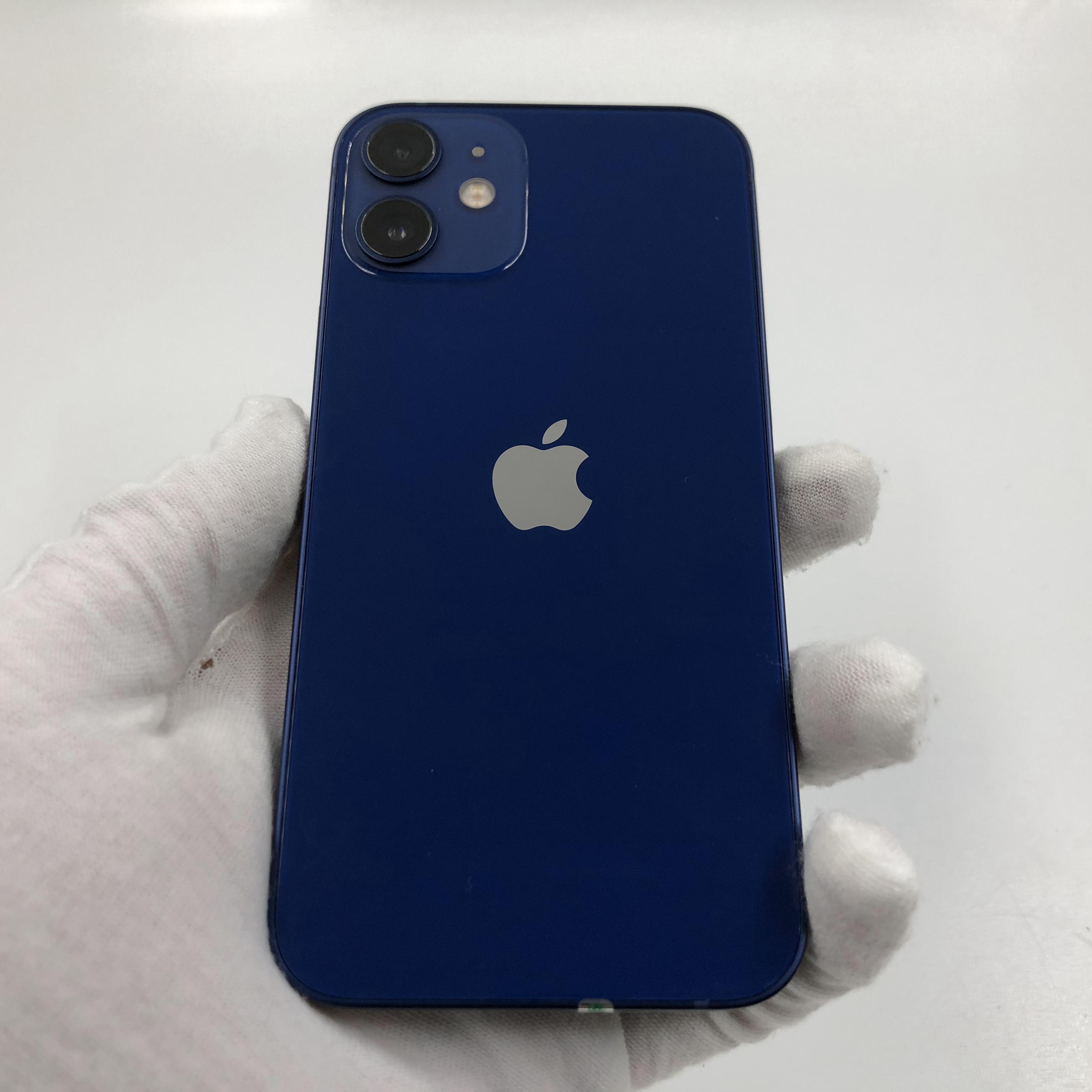 苹果【iPhone 12 mini】5G全网通 蓝色 128G 国行 95新 真机实拍官保2021-11-13