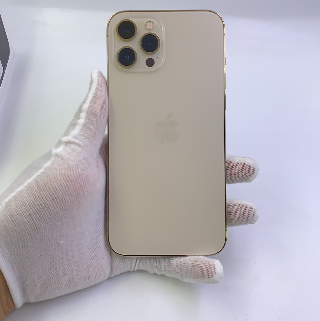 苹果【iPhone 12 Pro Max】5G全网通 金色 128G 国行 95新