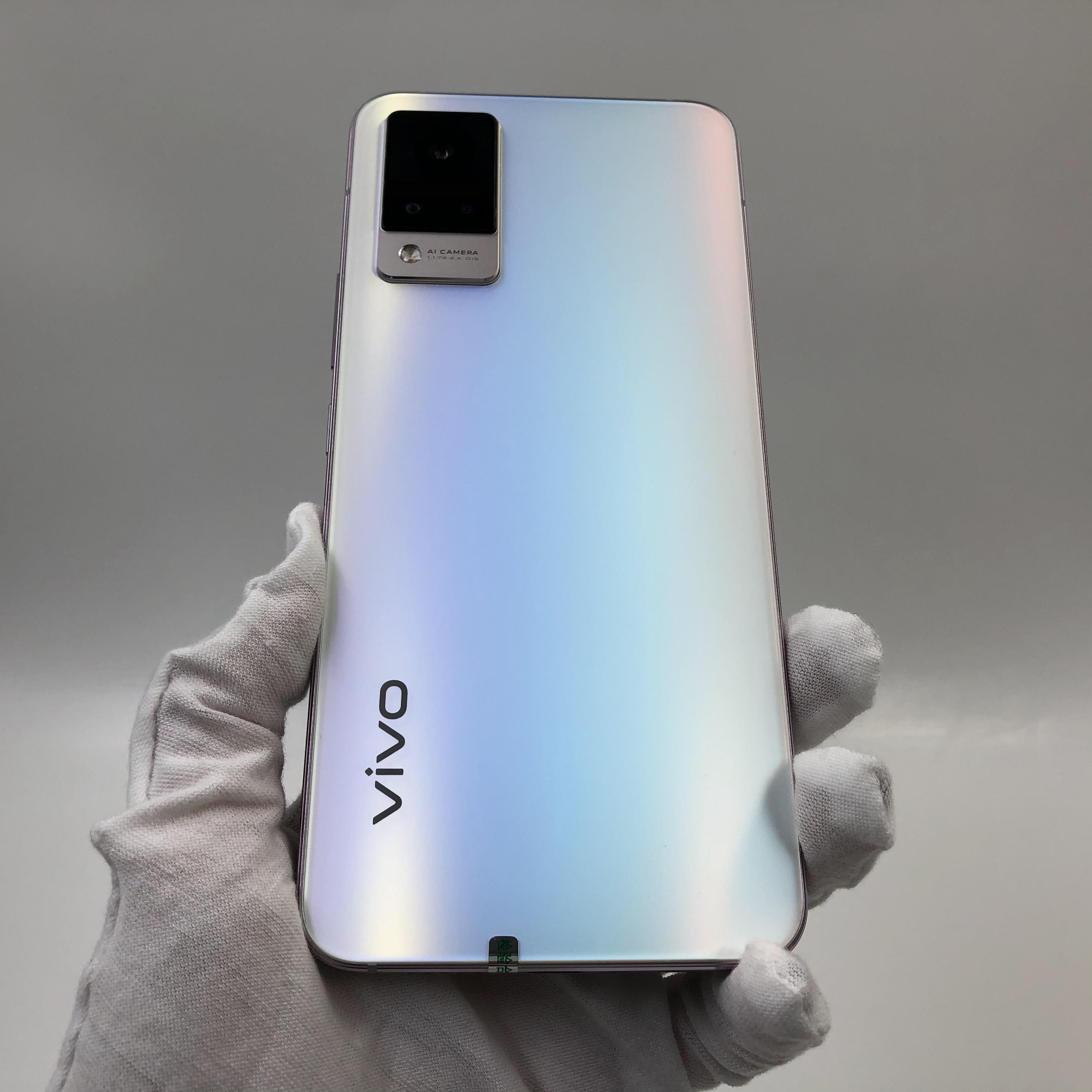 vivo【S9 5G】5G全网通 朝露白 12G/256G 国行 95新 真机实拍官保2022-03-16