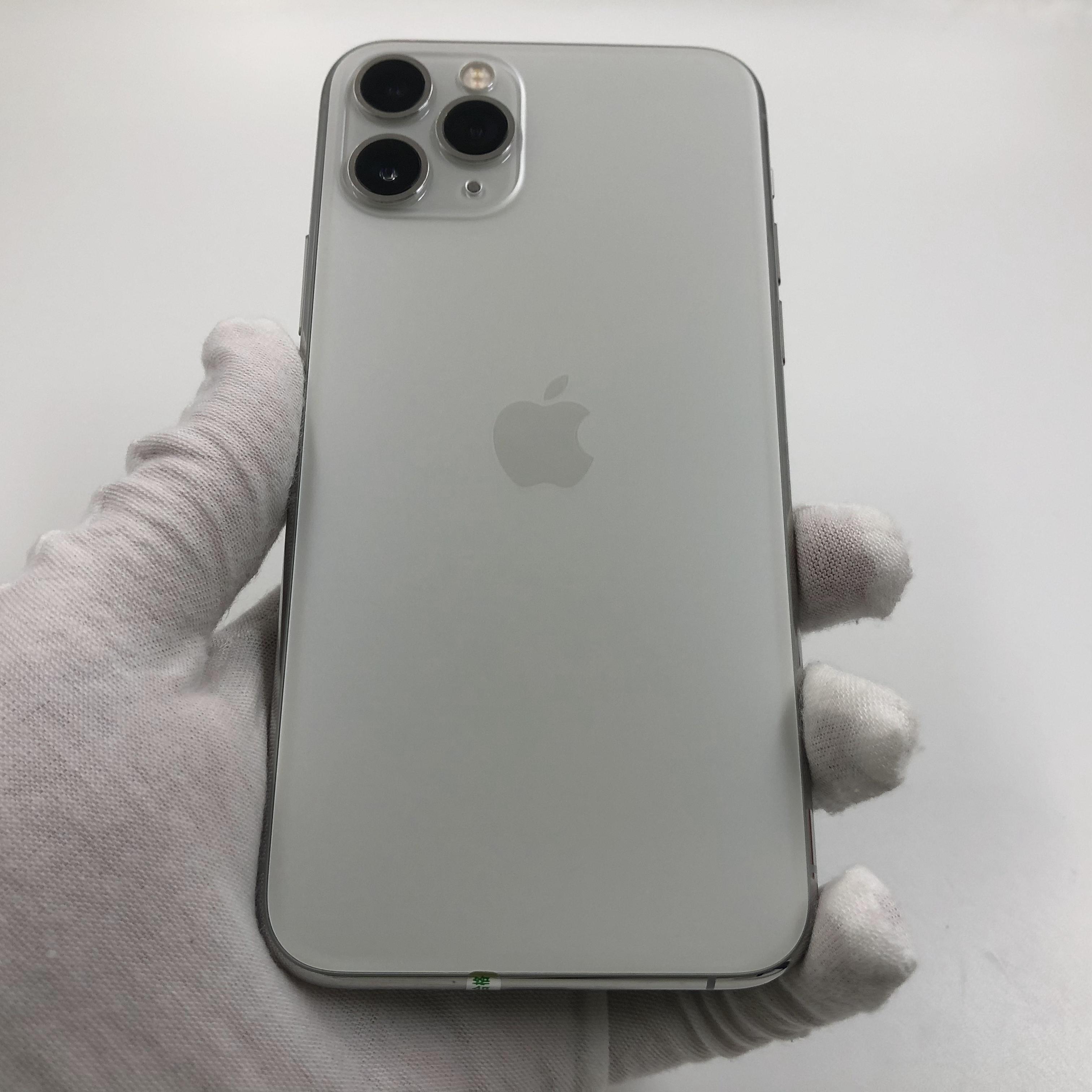 苹果【iPhone 11 Pro】4G全网通 银色 64G 国行 8成新 真机实拍