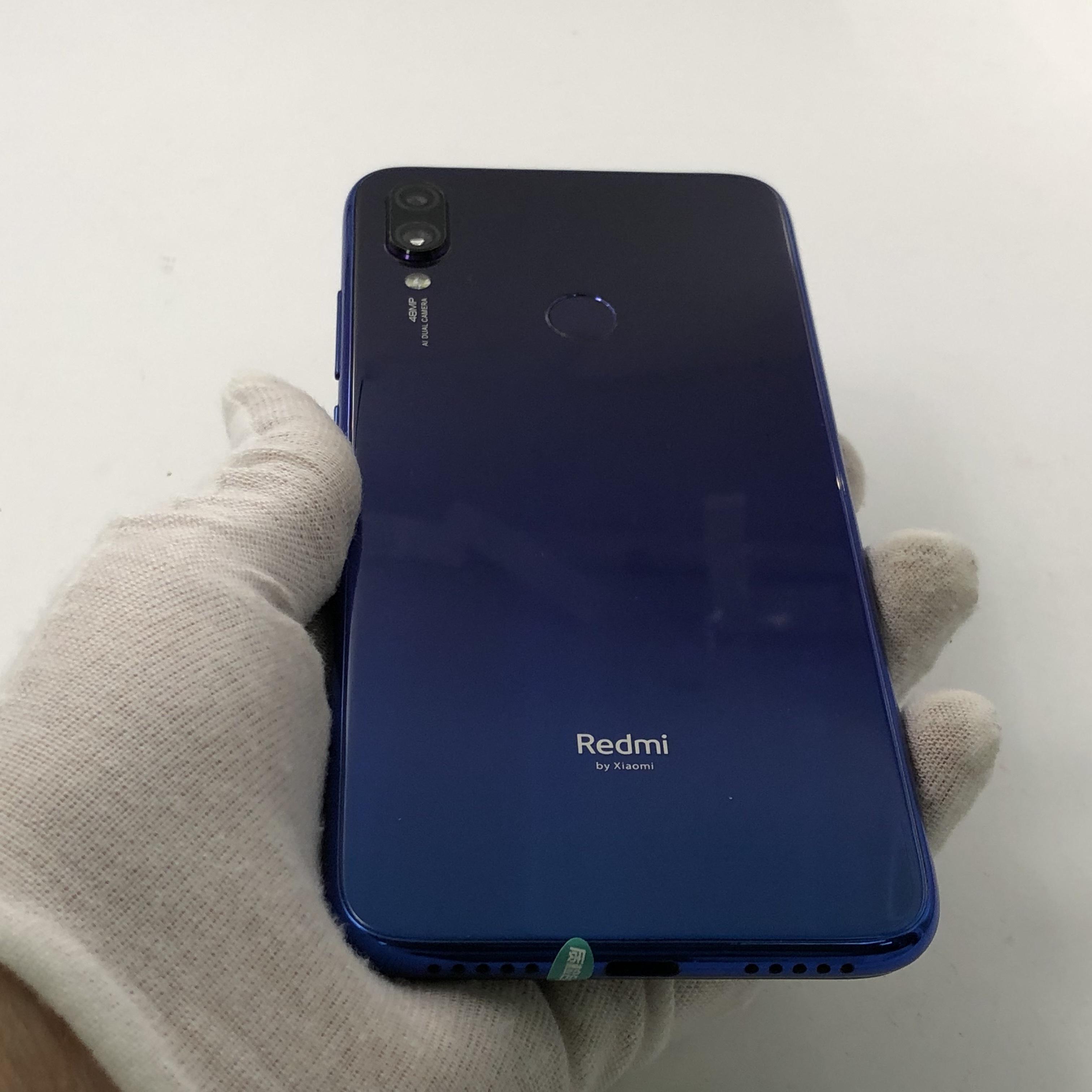 小米【Redmi Note 7】4G全网通 梦幻蓝 4G/64G 国行 8成新