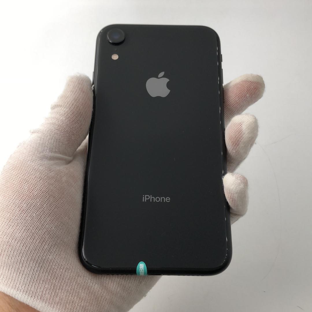 苹果【iPhone XR】4G全网通 黑色 128G 国行 99新