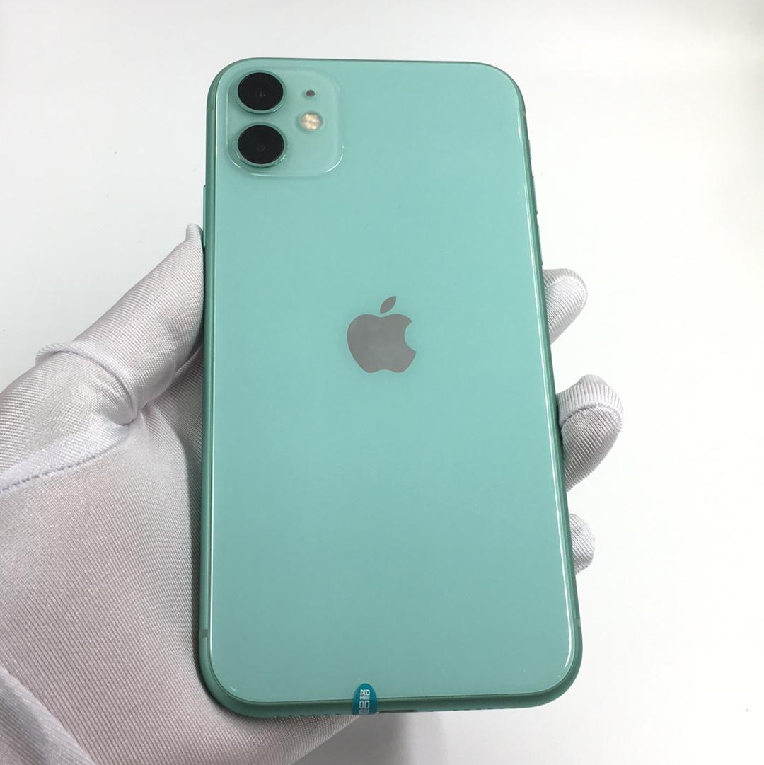 苹果【iPhone 11】全网通 绿色 64G 国行 99新 64G真机实拍