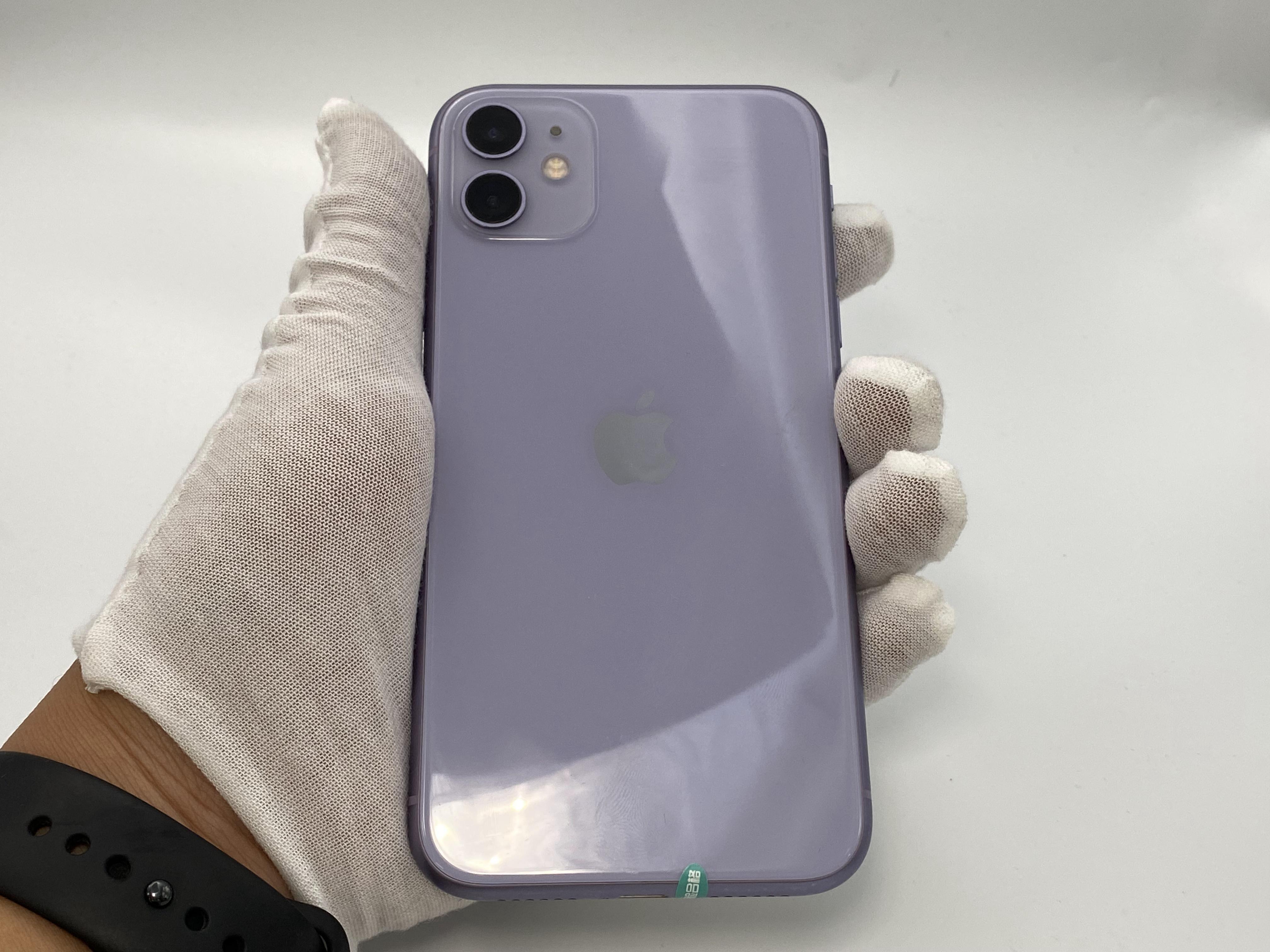 苹果【iPhone 11】4G全网通 紫色 128G 国行 9成新