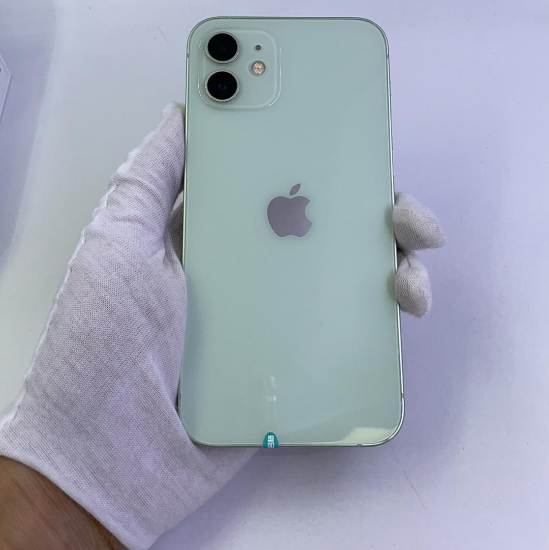 苹果【iPhone 12】5G全网通 绿色 256G 国行 9成新