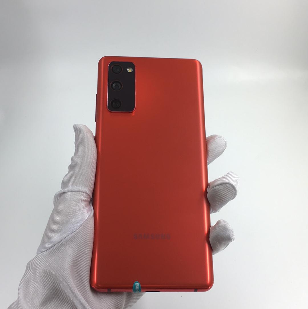 三星【Galaxy S20 FE 5G】5G全网通 灵感红 8G/128G 国行 95新 8G/128G真机实拍