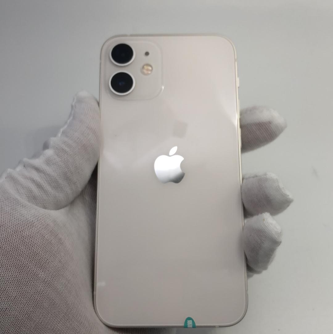 苹果【iPhone 12 mini】5G全网通 白色 128G 国行 95新