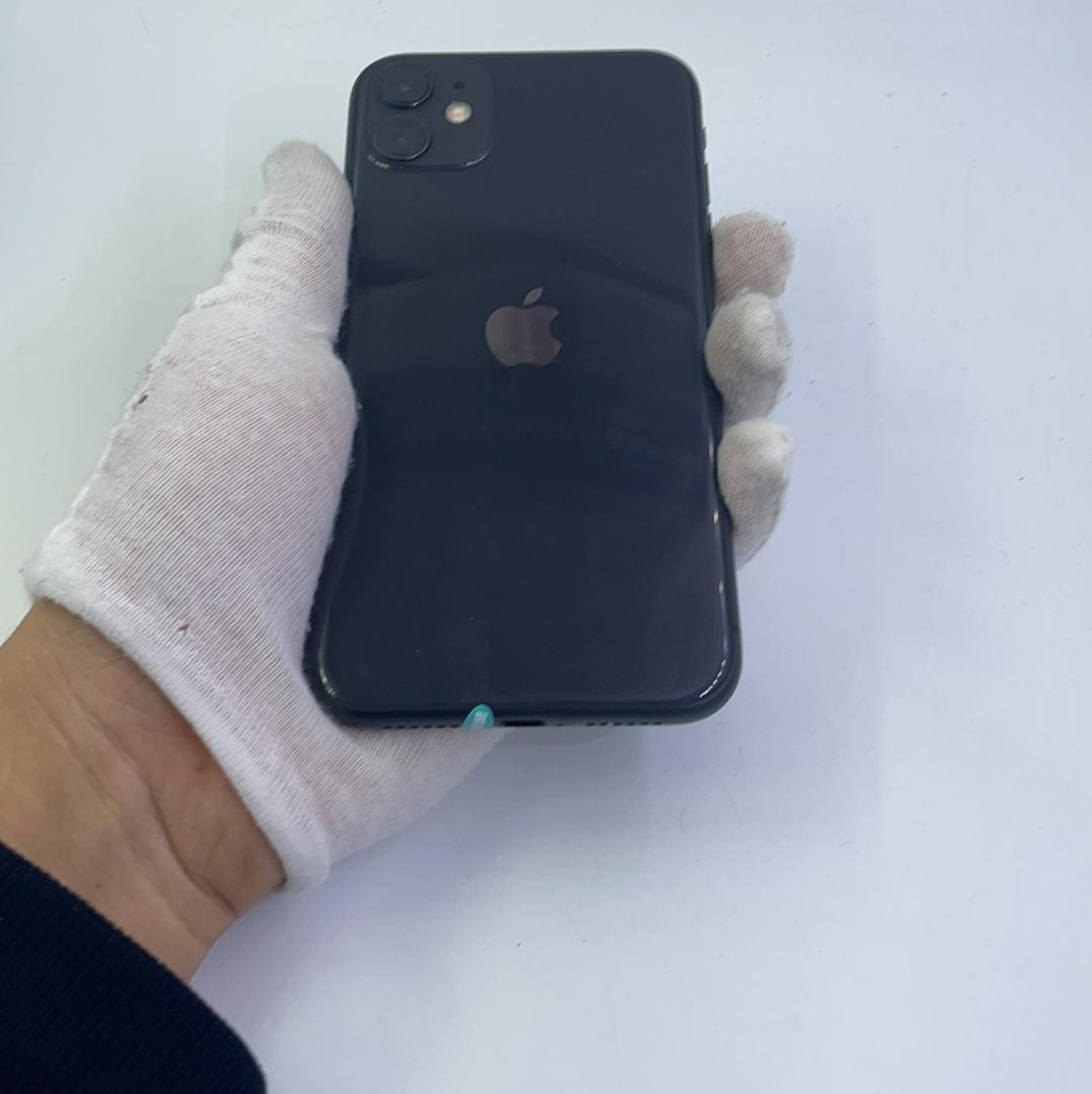 苹果【iPhone 11】4G全网通 黑色 256G 国行 9成新