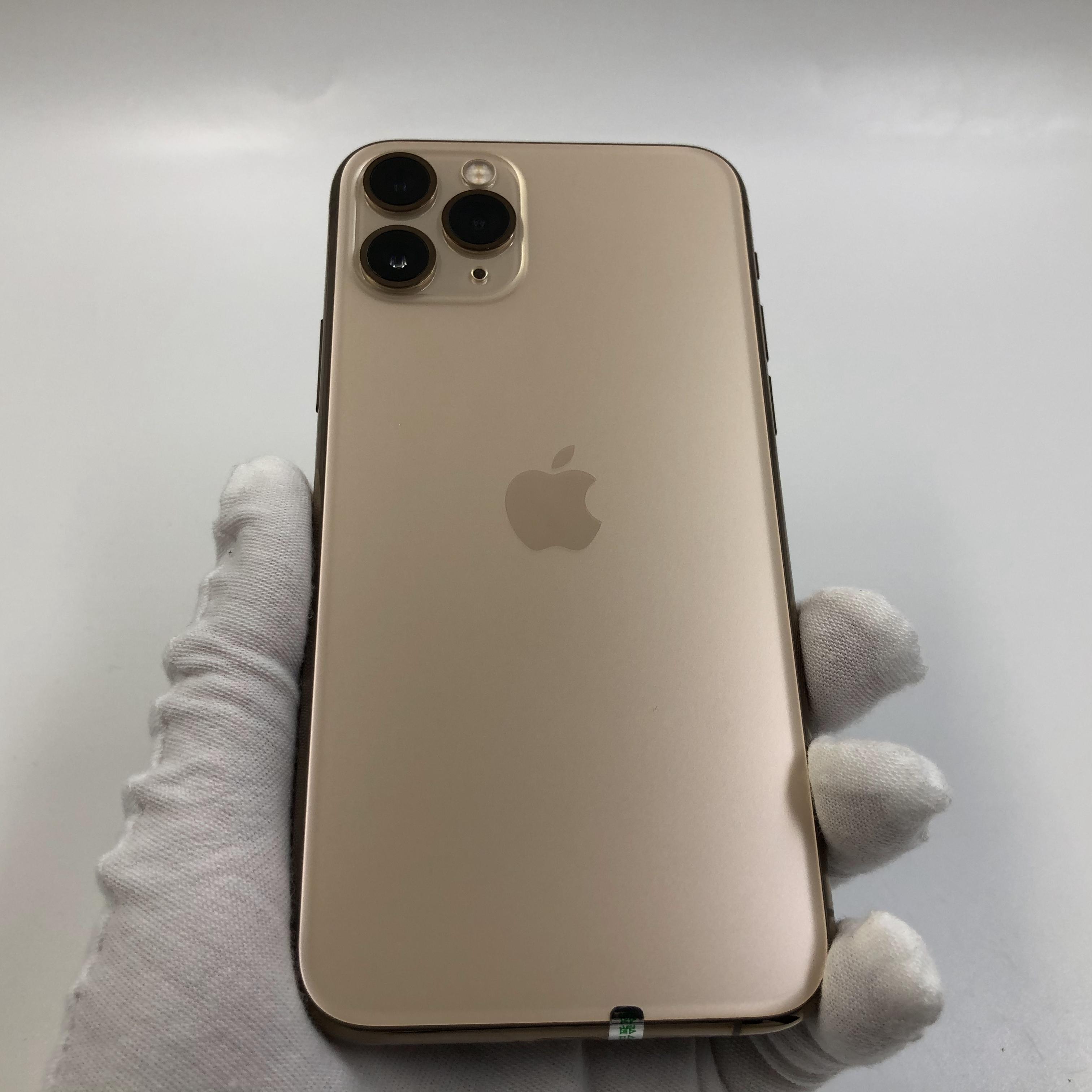 苹果【iPhone 11 Pro】4G全网通 金色 256G 国行 99新 真机实拍