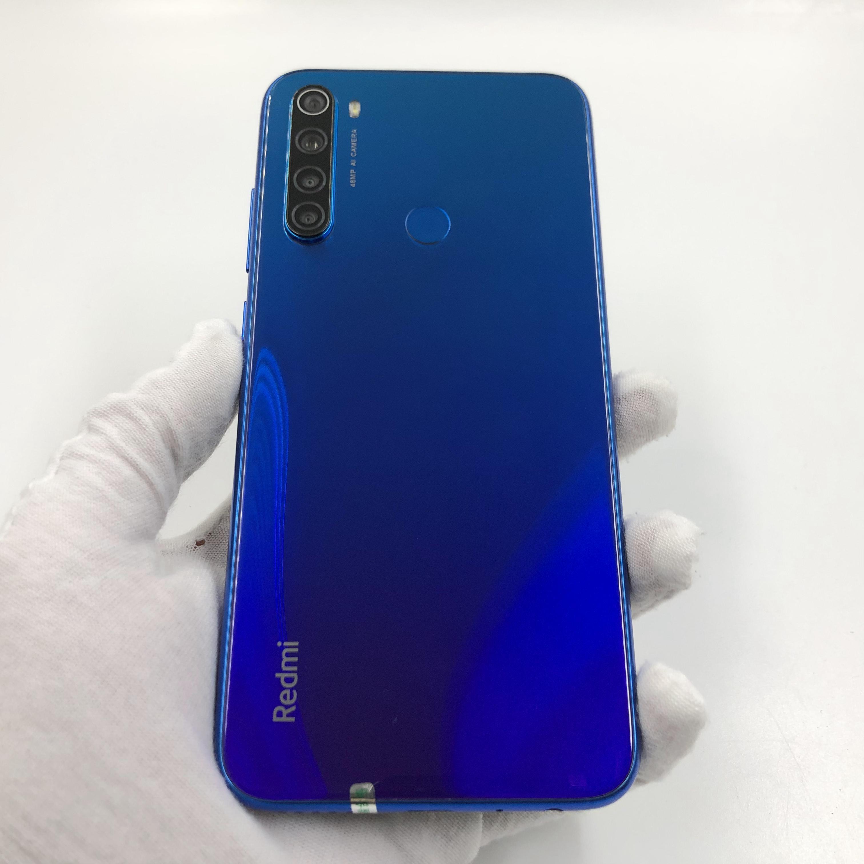 小米【Redmi Note 8】4G全网通 蓝色 6G/128G 国行 8成新 真机实拍