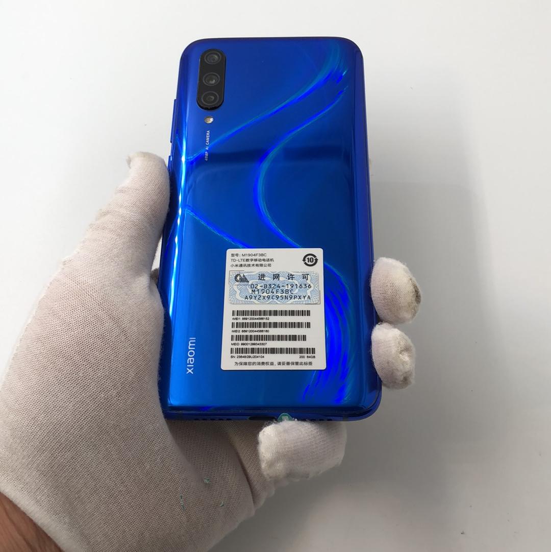 小米【小米 CC 9】4G全网通 蓝色 6G/64G 国行 9成新