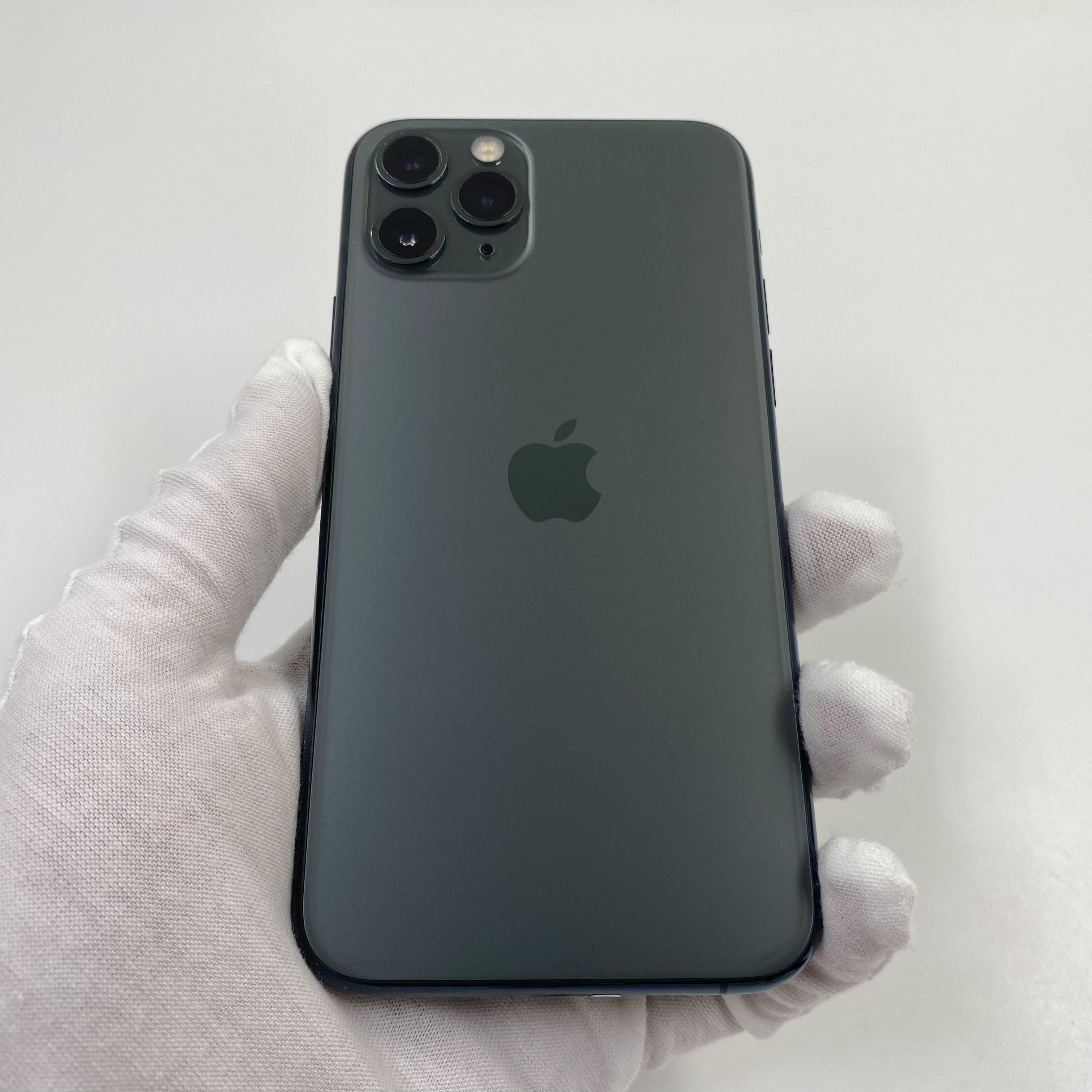 苹果【iPhone 11 Pro】4G全网通 暗夜绿色 256G 国行 8成新 真机实拍