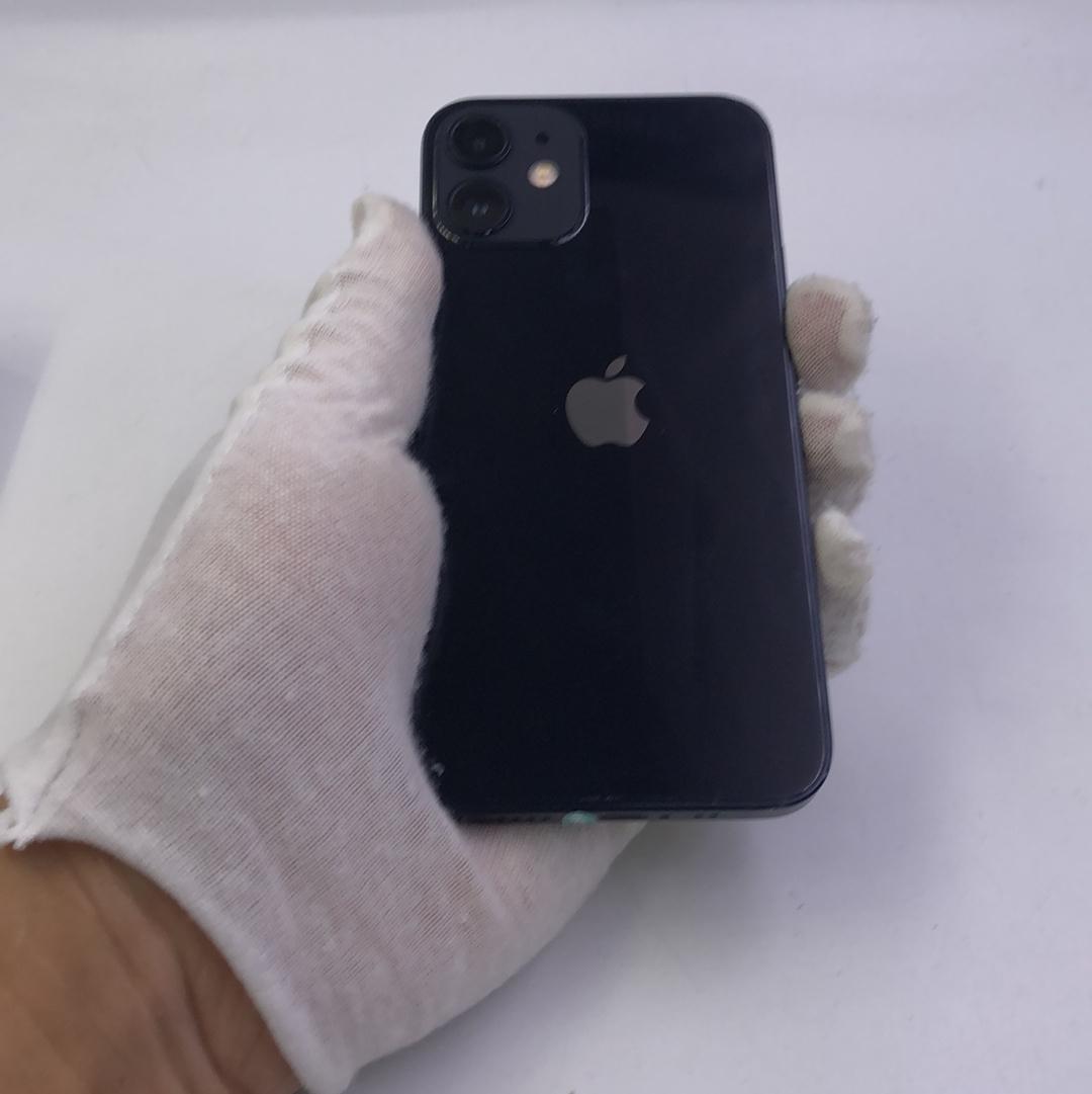 苹果【iPhone 12 mini】5G全网通 黑色 256G 国行 8成新