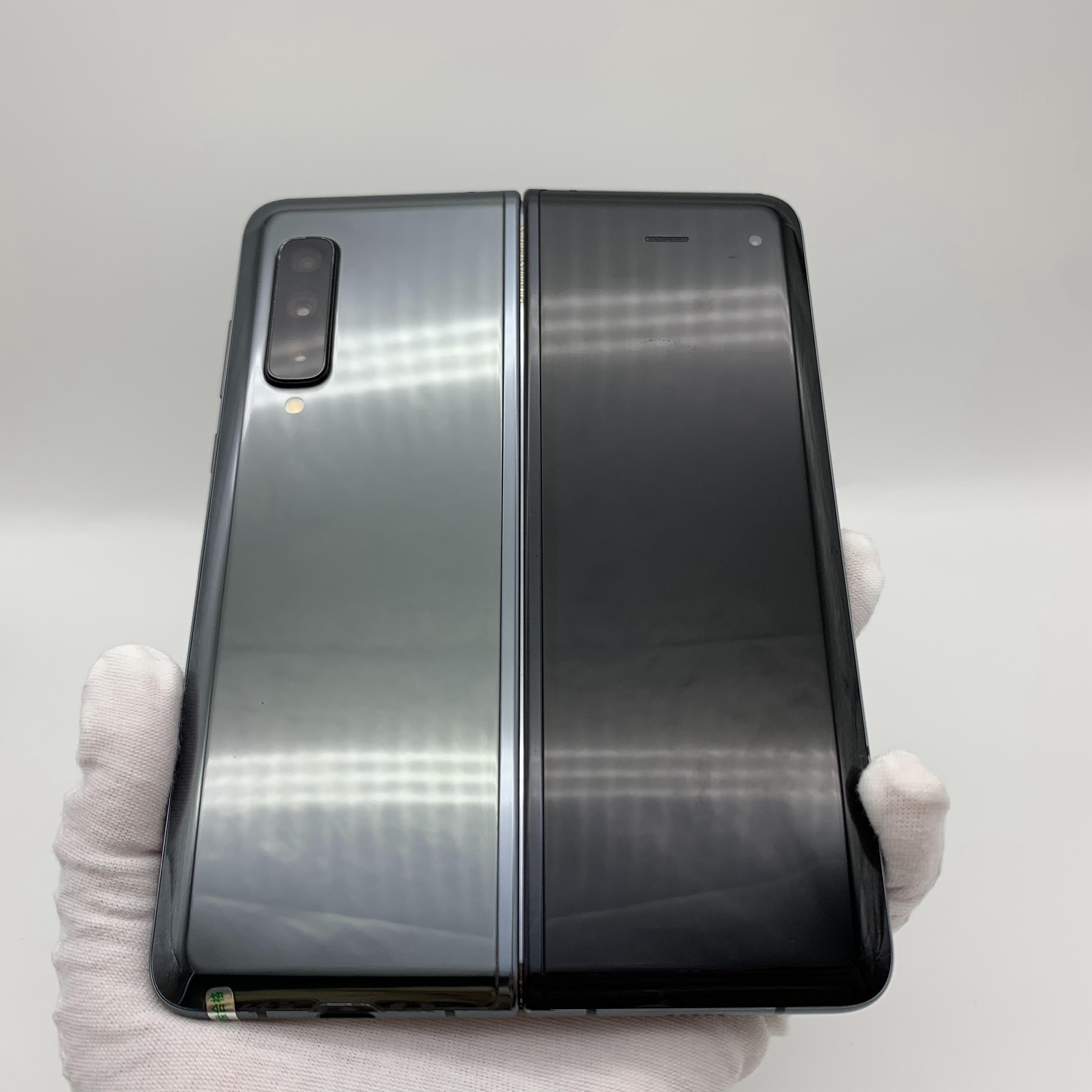 三星【Galaxy Fold】4G全网通 黑色 12G/512G 国行 8成新 真机实拍