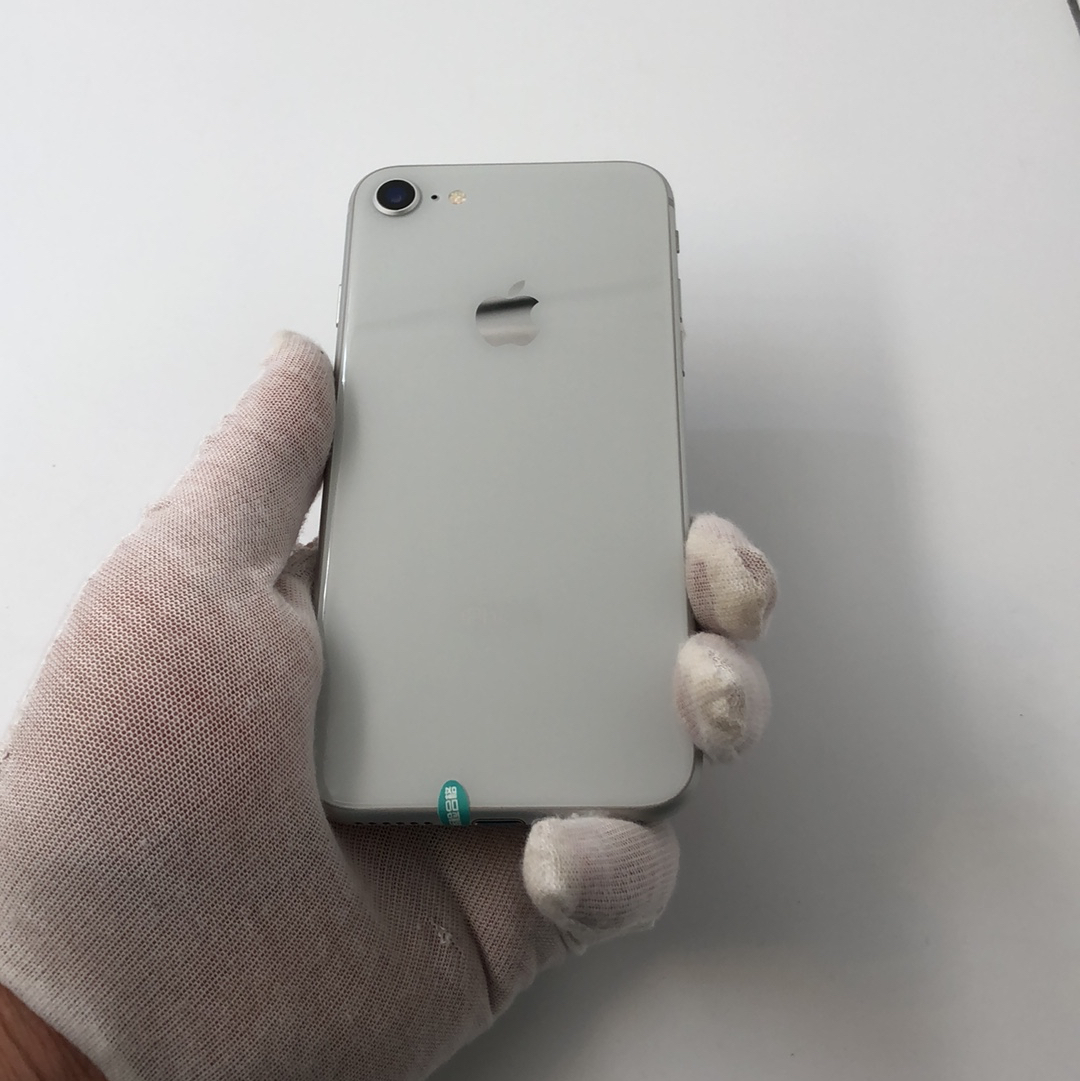 苹果【iPhone 8】4G全网通 银色 256G 国行 99新