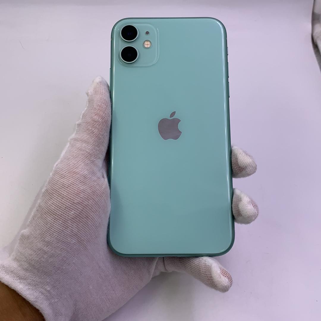 苹果【iPhone 11】4G全网通 绿色 128G 国行 8成新
