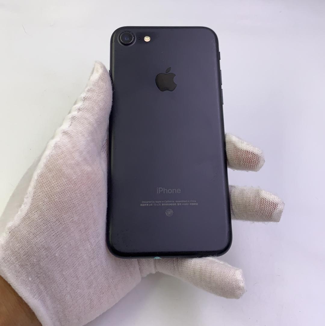 苹果【iPhone 7】4G全网通 黑色 128G 国行 9成新
