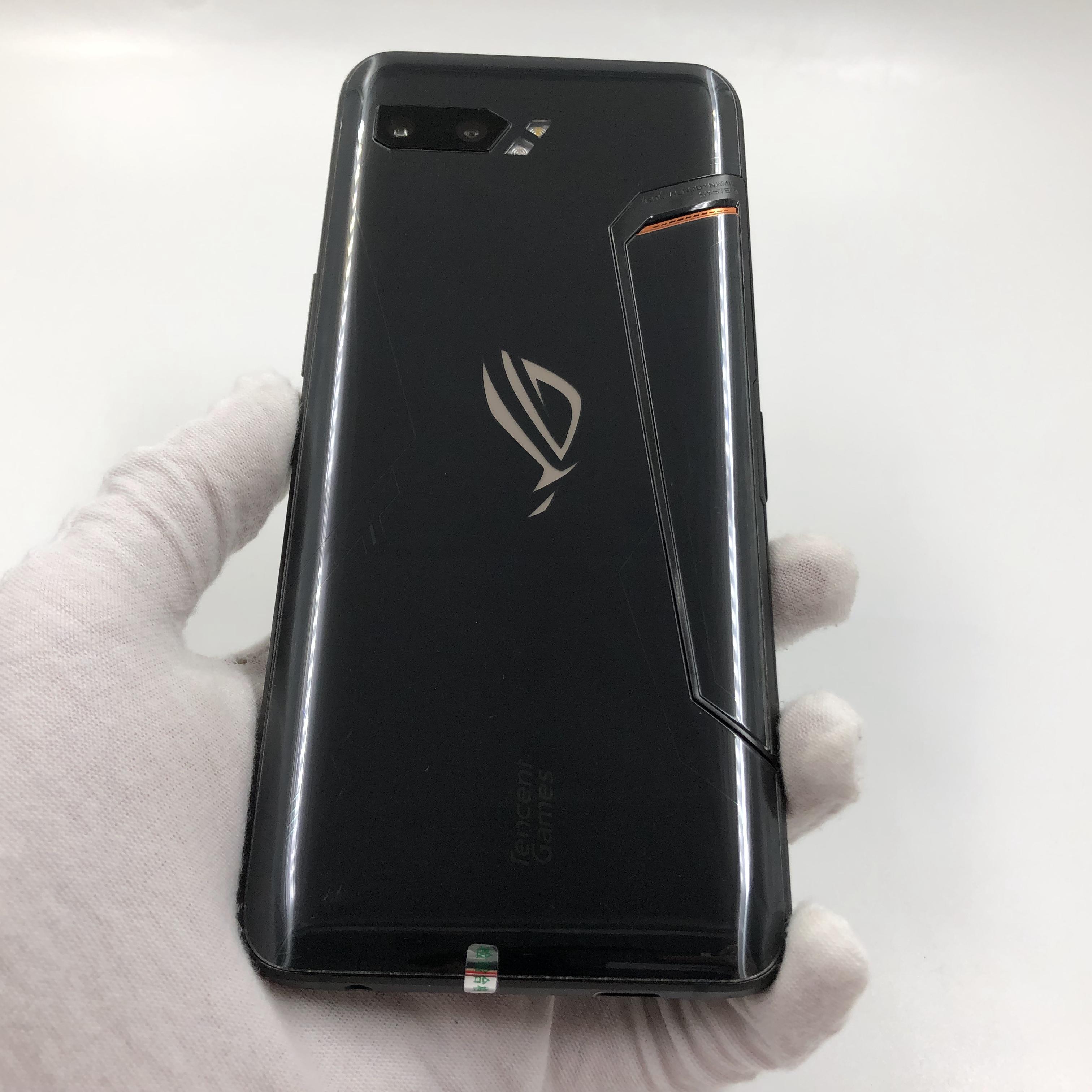 华硕【ROG 游戏手机2】4G全网通 黑色 12G/512G 国行 9成新 真机实拍