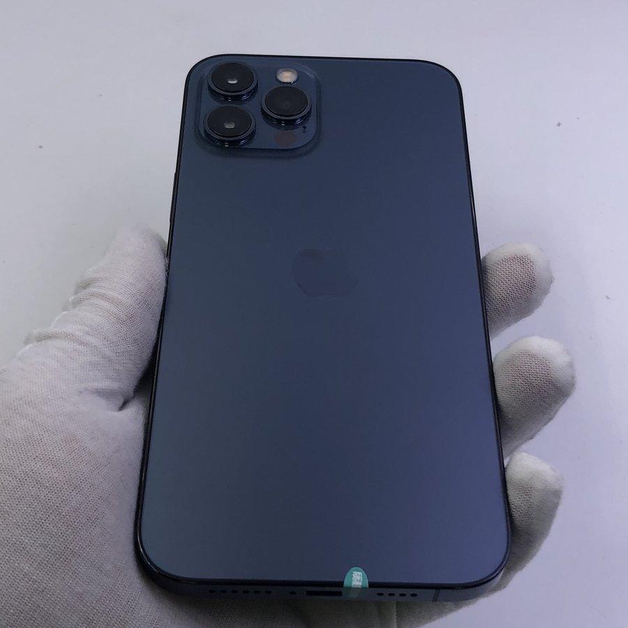 苹果【iPhone 12 Pro Max】5G全网通 海蓝色 512G 国行 99新