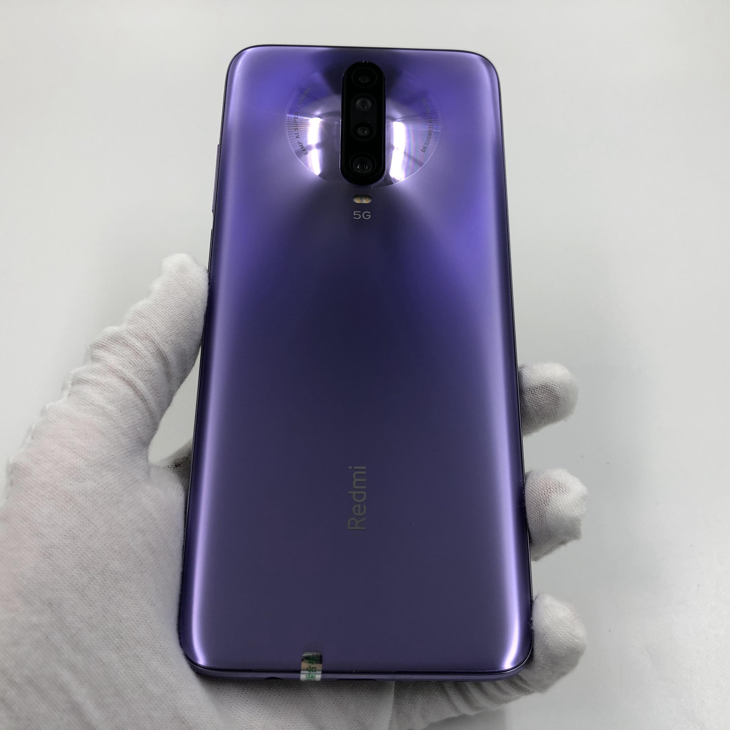 小米【Redmi K30 5G】5G全网通 紫玉幻境 6G/128G 国行 95新 真机实拍