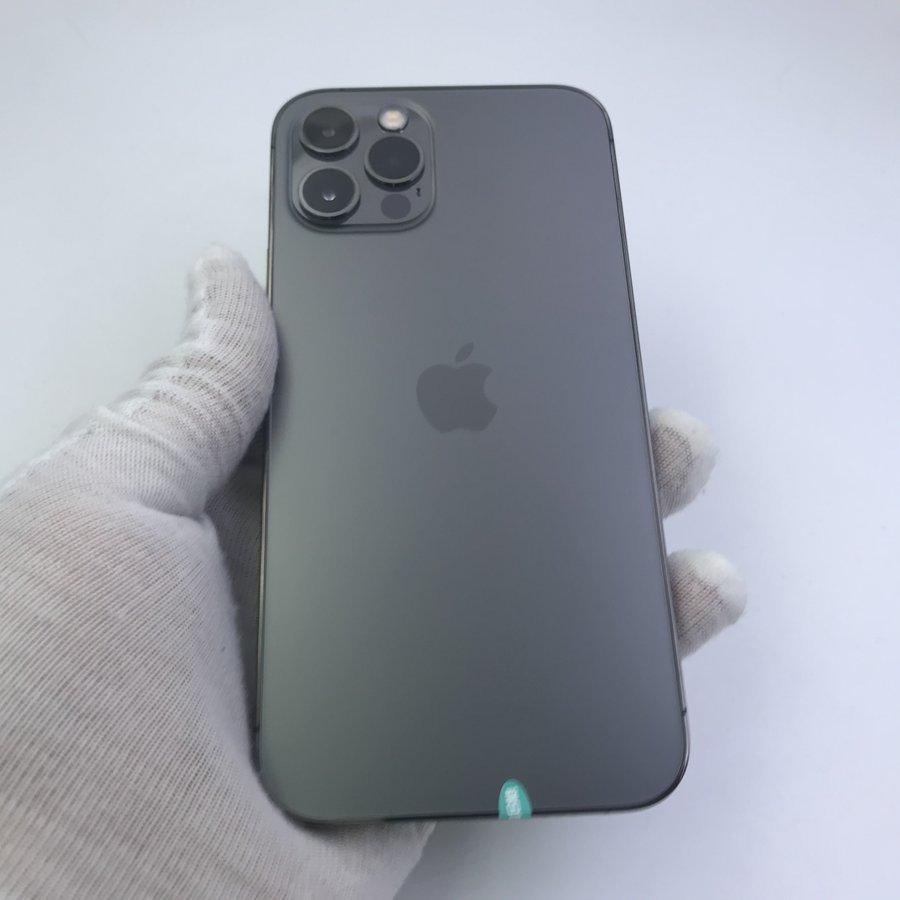 苹果【iPhone 12 Pro】5G全网通 石墨色 128G 国行 9成新