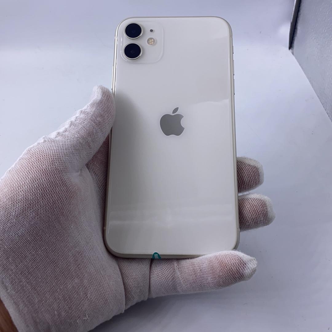苹果【iPhone 11】4G全网通 白色 256G 国行 95新