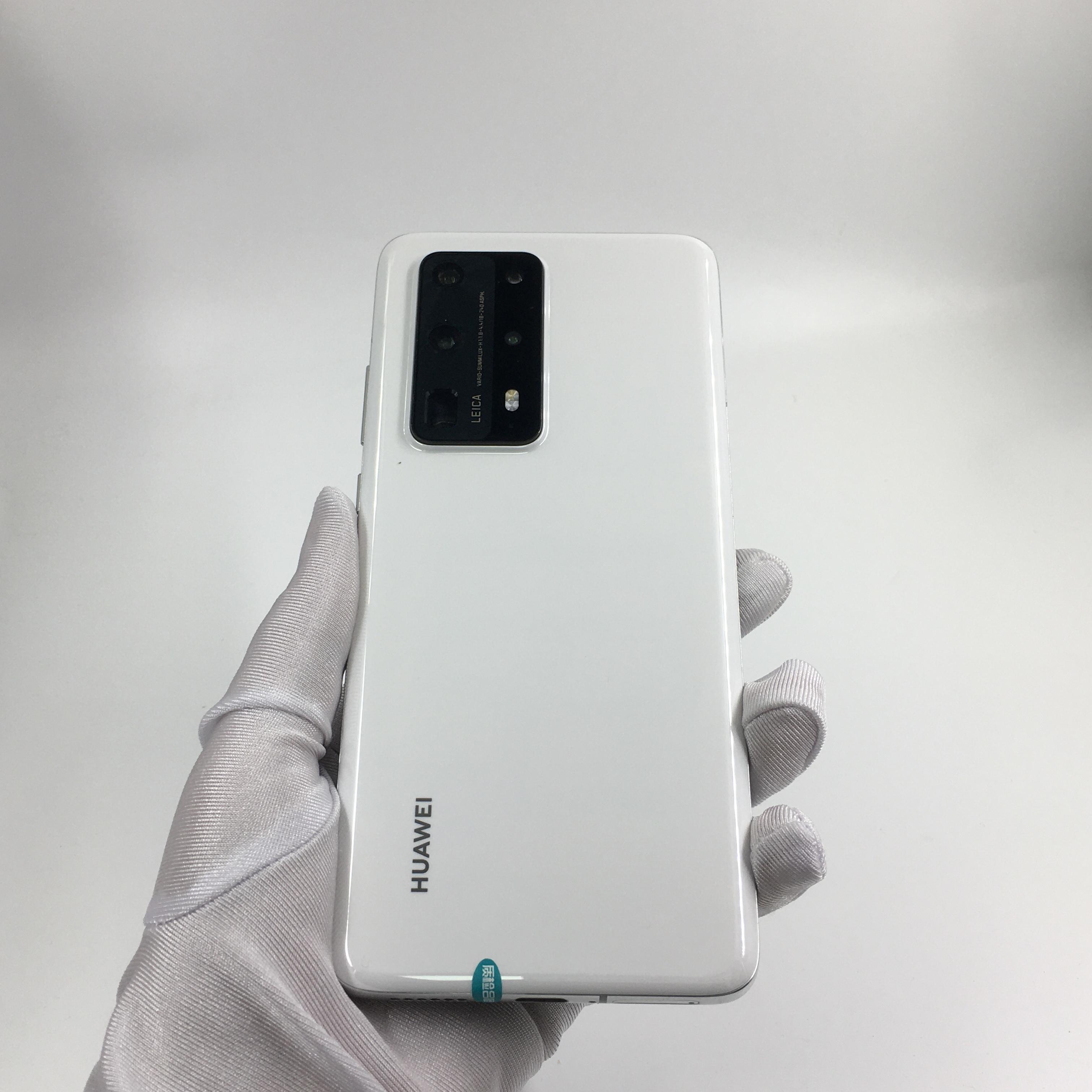 华为【P40 Pro+ 5G】5G全网通 陶瓷白 8G/512G 国行 95新 8G/512G真机实拍