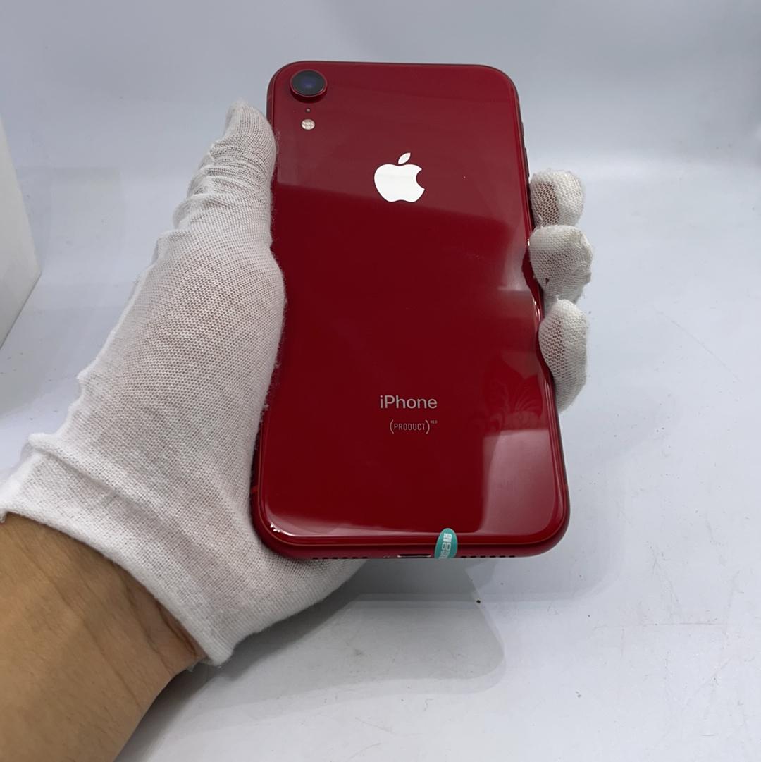 苹果【iPhone XR】4G全网通 红色 64G 国行 99新