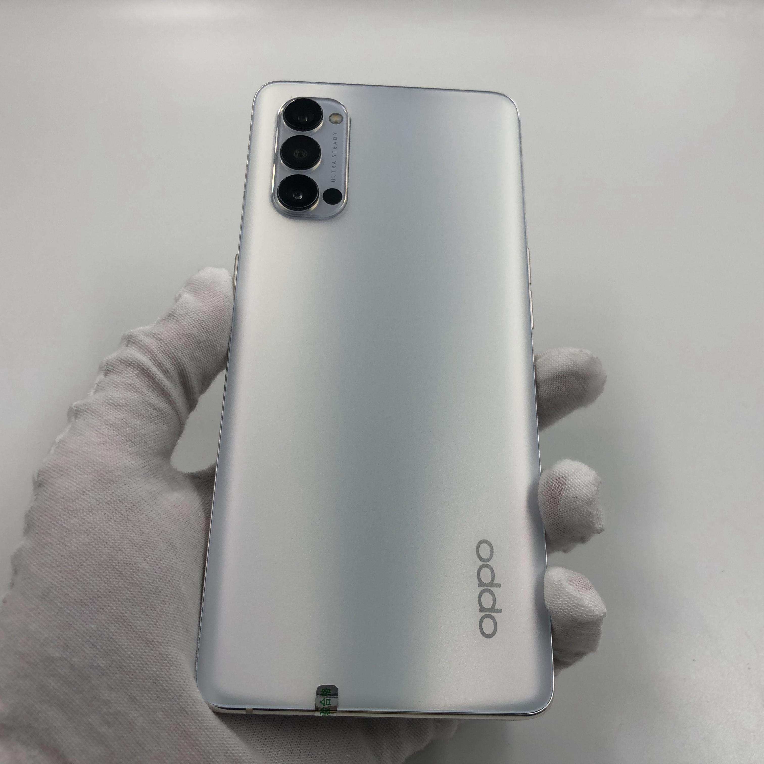 oppo【Reno4 Pro 5G】5G全网通 钛空白 12G/256G 国行 8成新 真机实拍