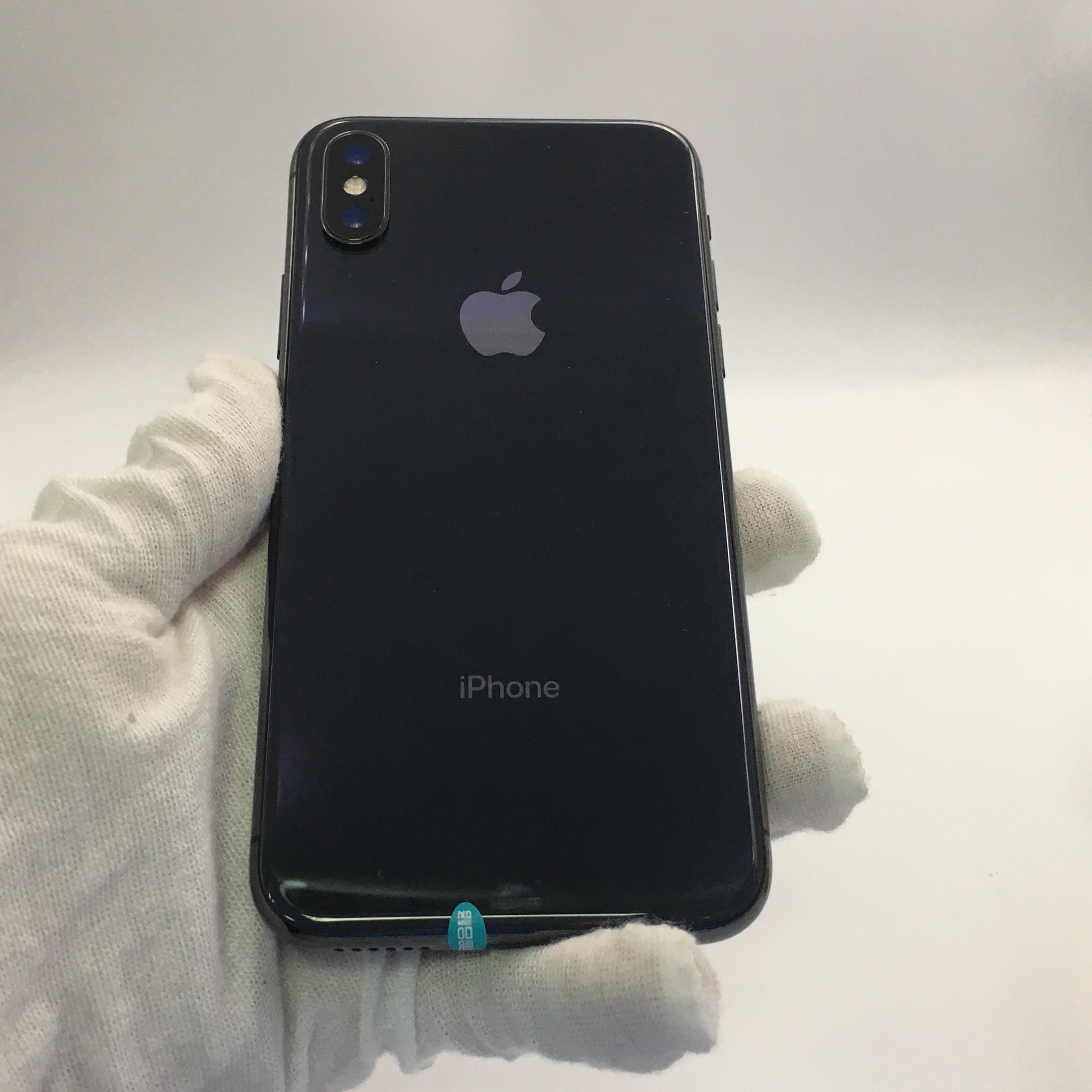 苹果【iPhone X】4G全网通 深空灰 256G 国行 95新 256G真机实拍