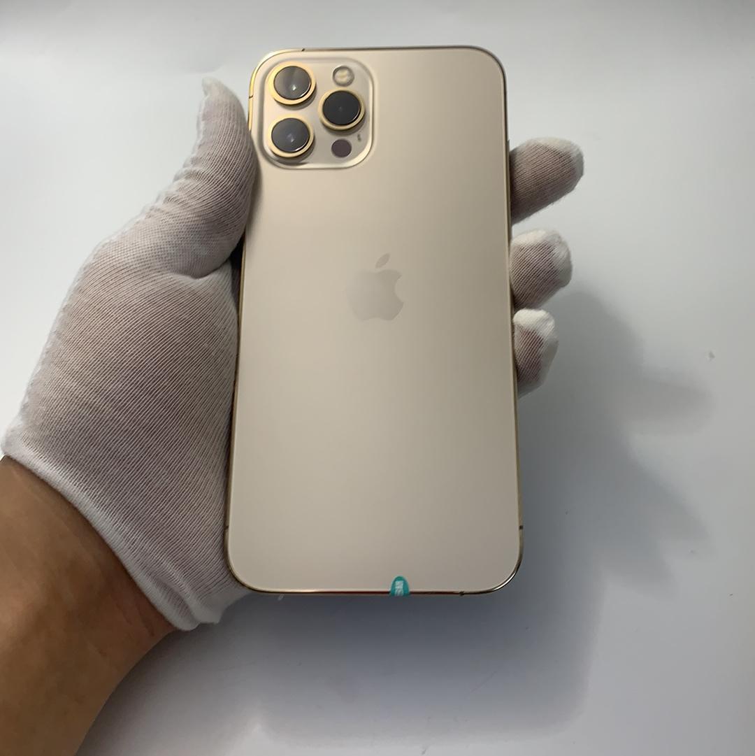 苹果【iPhone 12 Pro Max】5G全网通 金色 128G 国行 99新