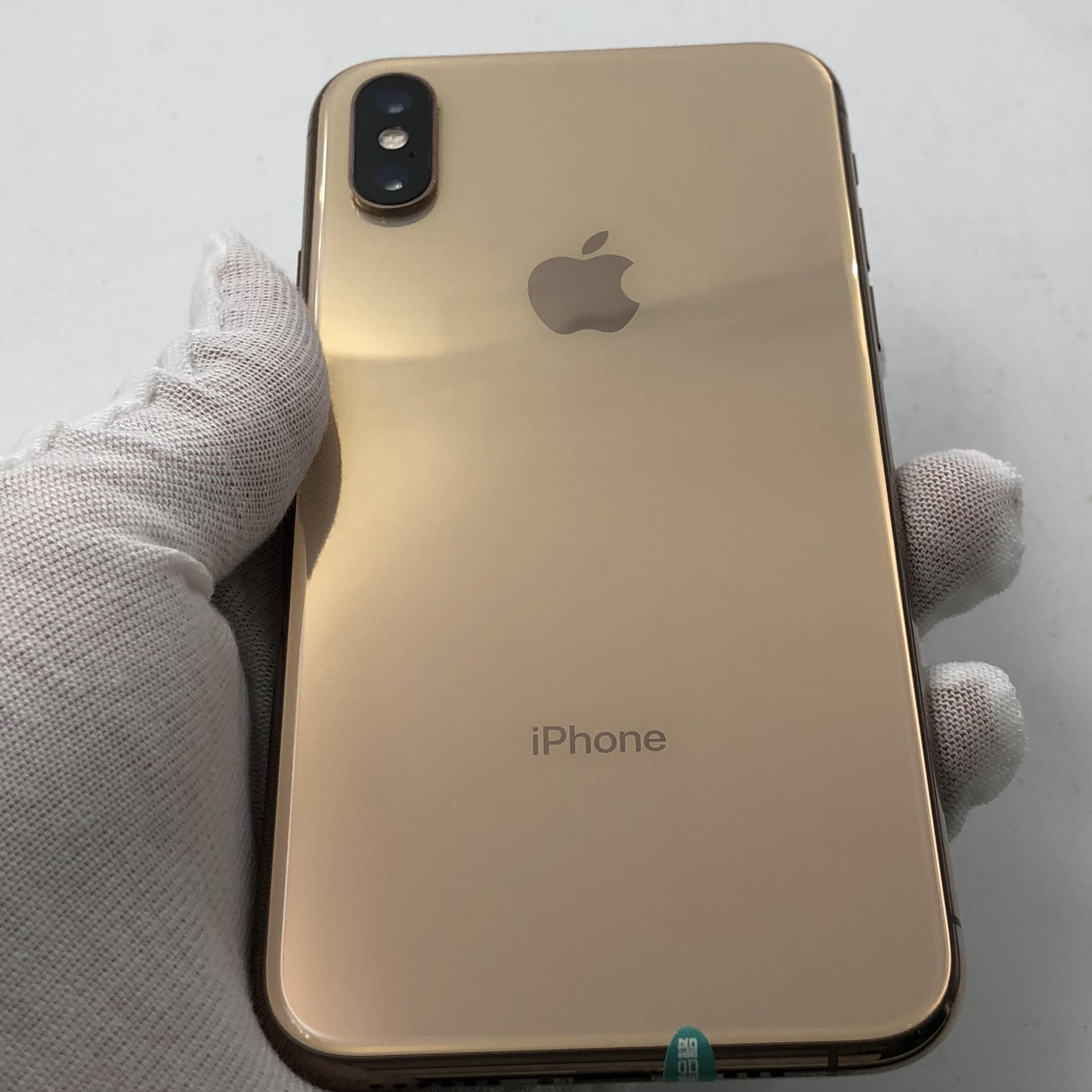 苹果【iPhone Xs】4G全网通 金色 64G 国行 9成新