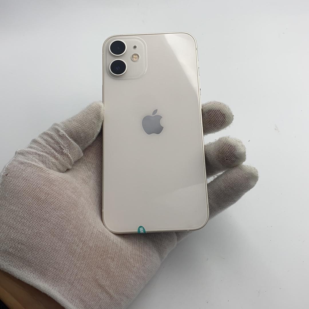 苹果【iPhone 12 mini】5G全网通 白色 128G 国行 9成新
