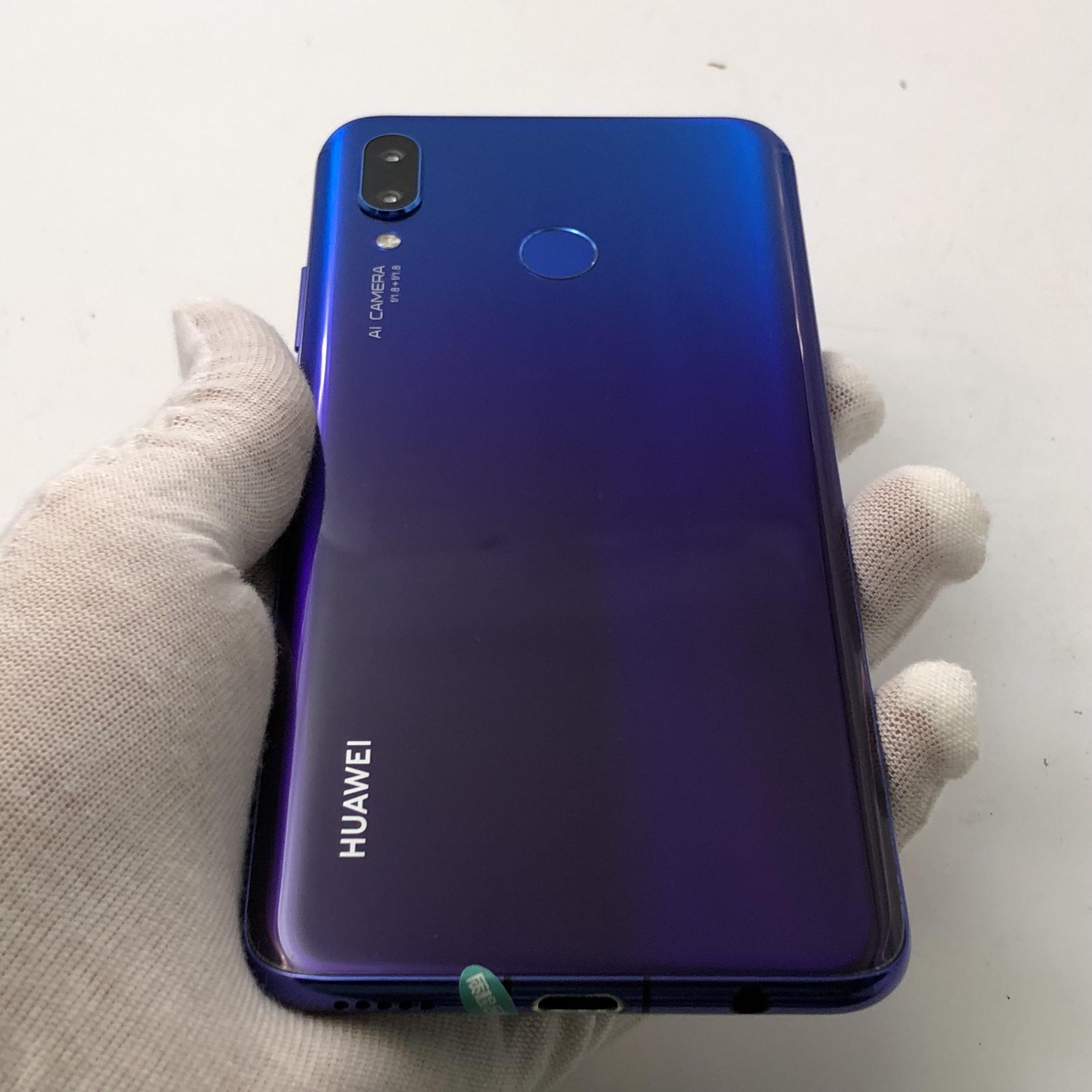 华为【Nova3】4G全网通 蓝色 6G/128G 国行 9成新
