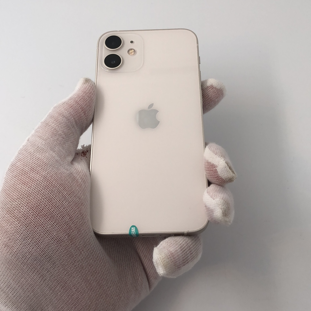 苹果【iPhone 12 mini】5G全网通 白色 256G 国行 8成新