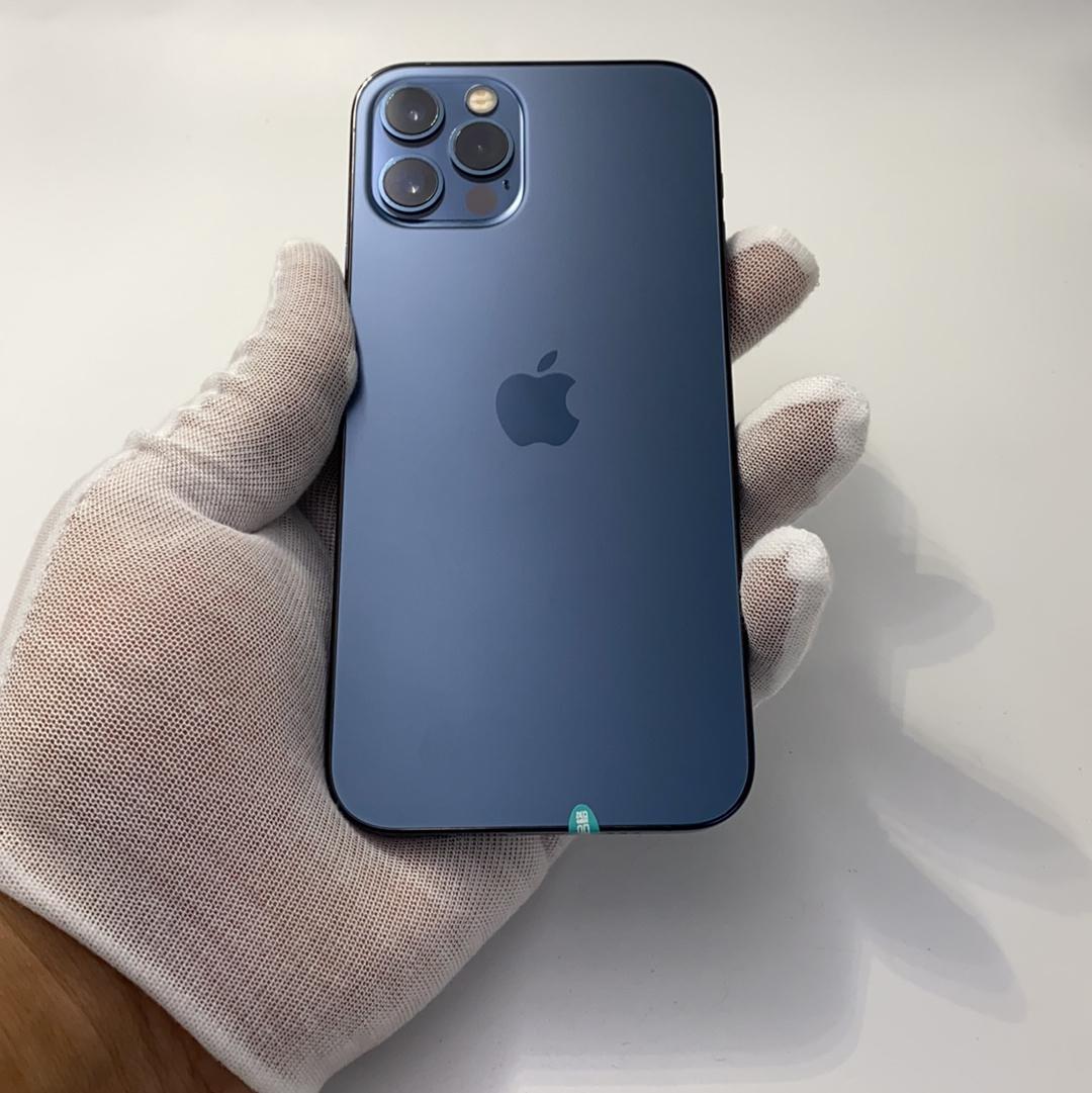 苹果【iPhone 12 Pro】5G全网通 海蓝色 256G 国行 99新