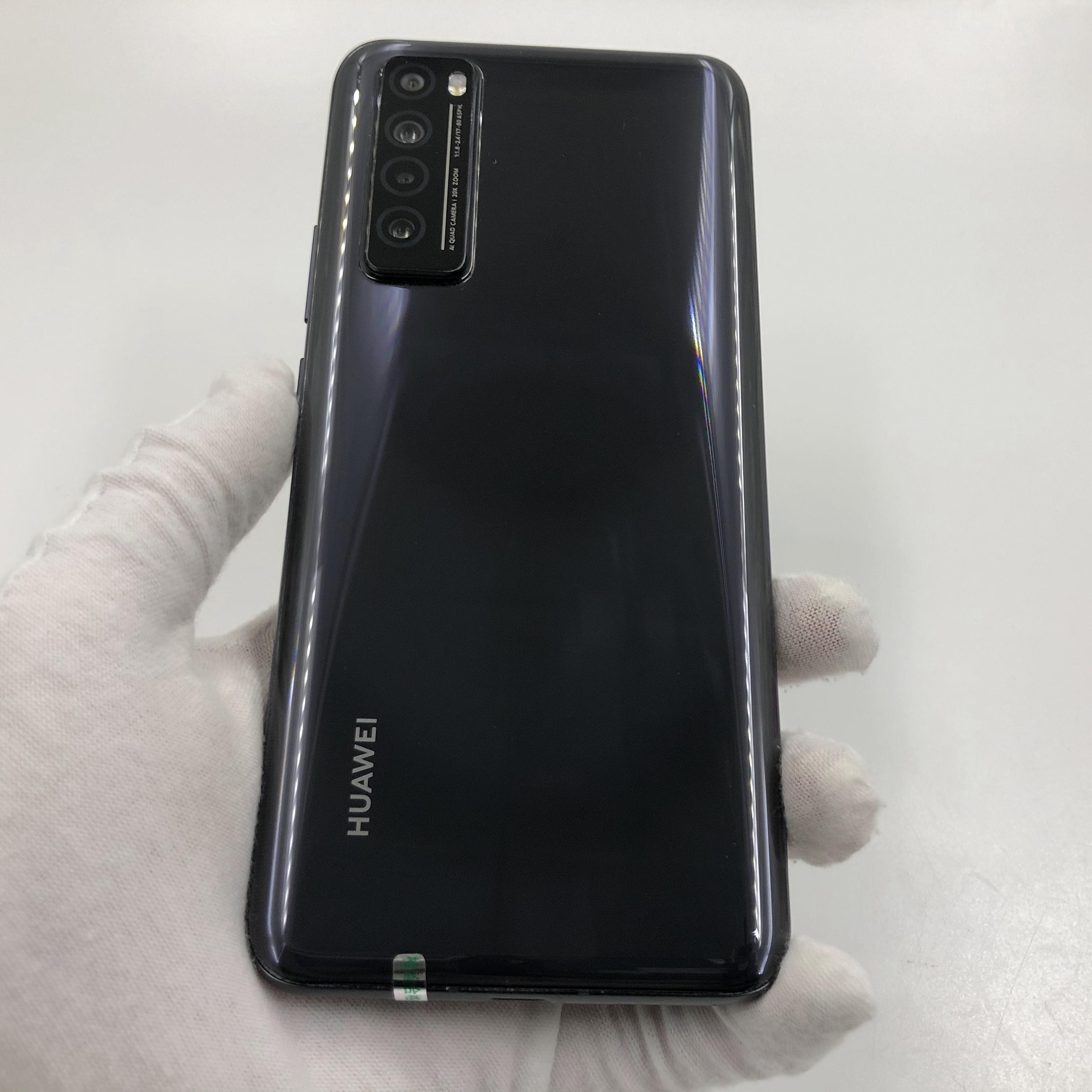 华为【nova 7 5G】5G全网通 亮黑色 8G/128G 国行 95新 真机实拍