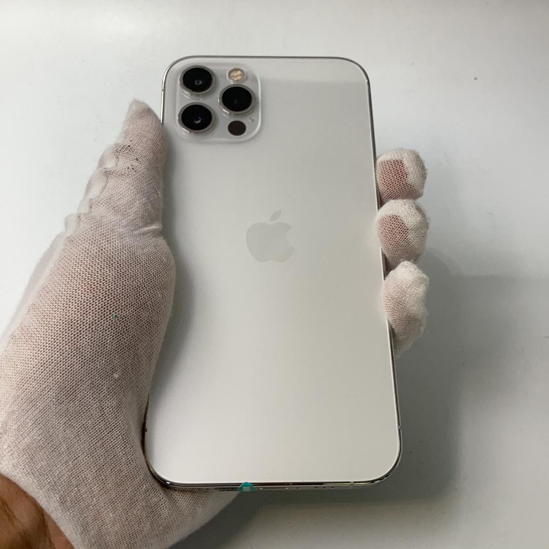 苹果【iPhone 12 Pro】5G全网通 银色 256G 国行 9成新