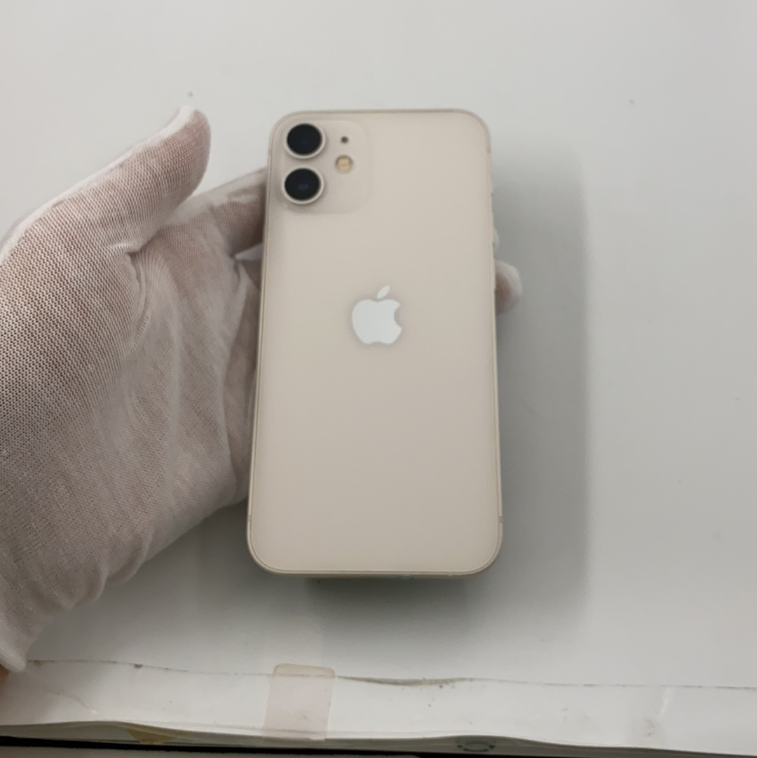 苹果【iPhone 12 mini】5G全网通 白色 256G 国行 9成新