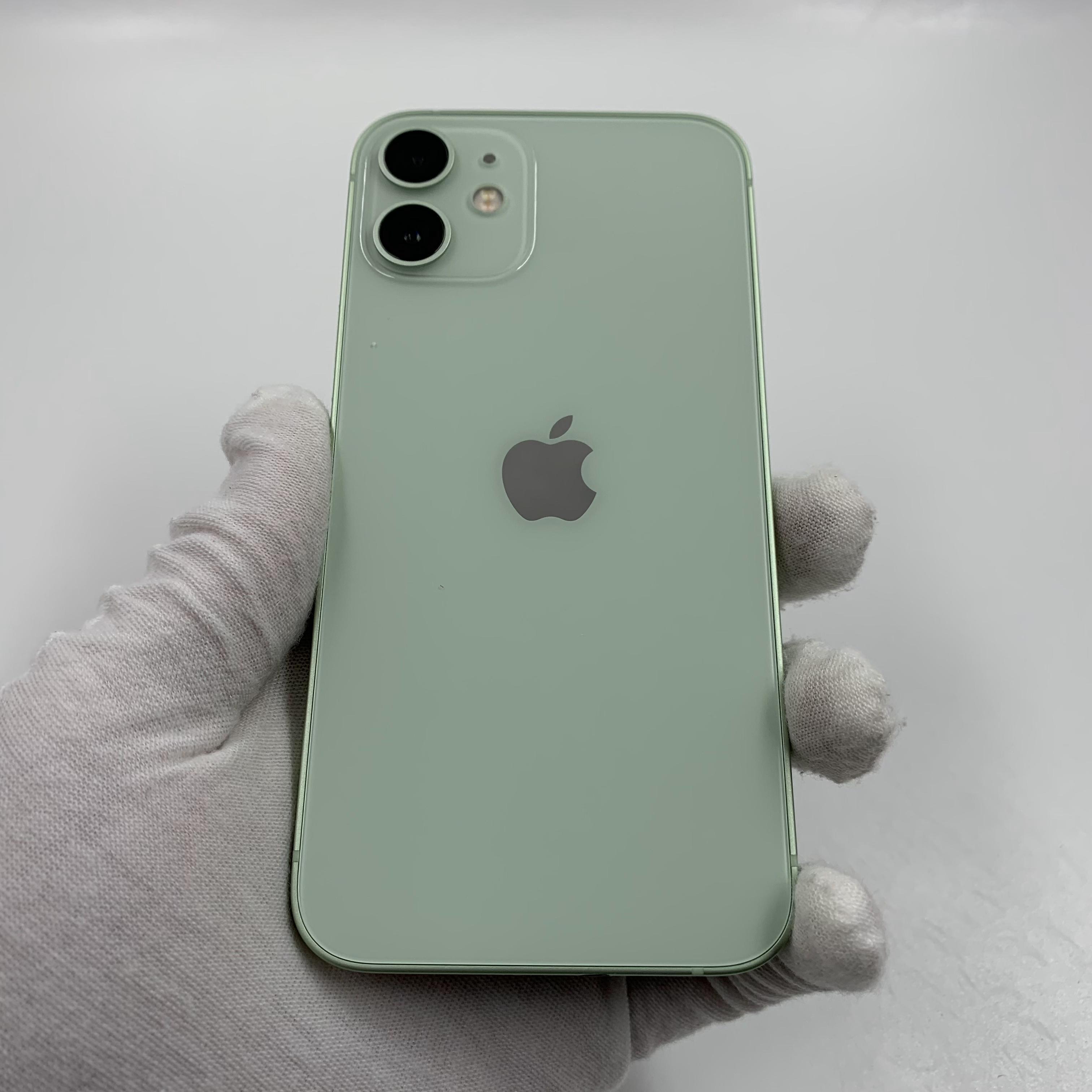 苹果【iPhone 12 mini】5G全网通 绿色 64G 国行 95新 真机实拍官保2022-02-06
