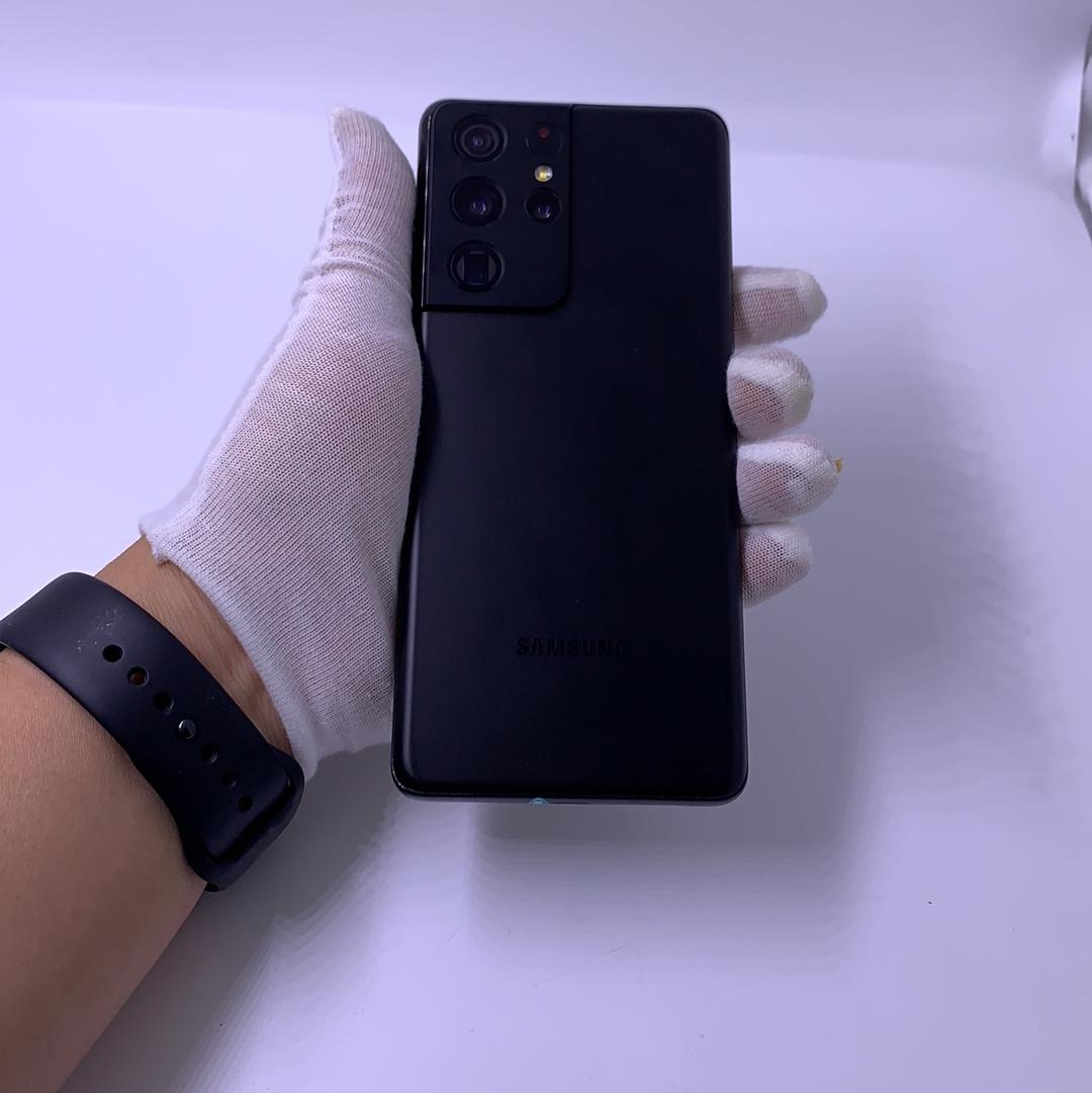 三星【Galaxy S21 Ultra 5G】5G全网通 幽夜黑 12G/256G 港澳台 95新