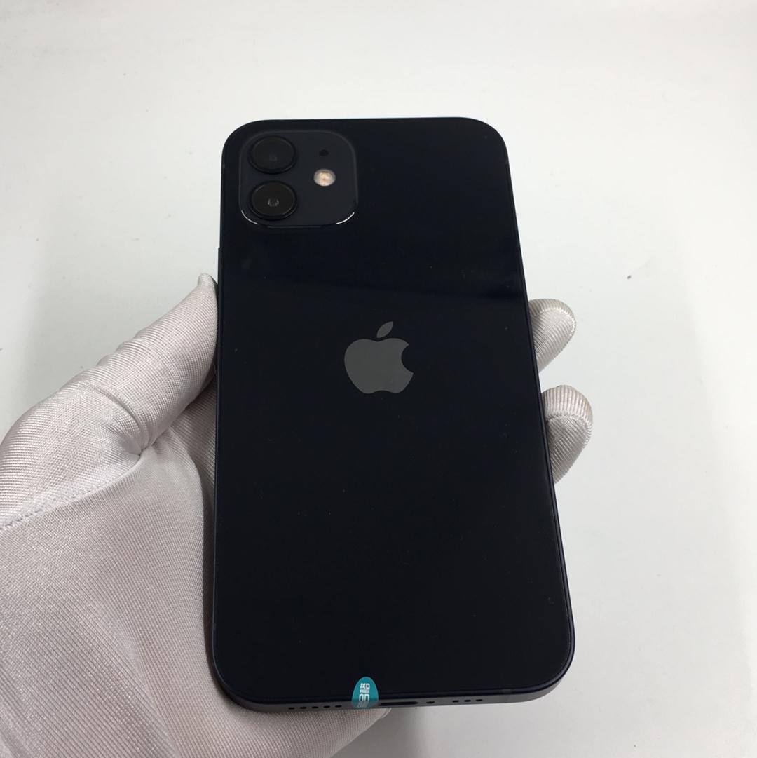 苹果【iPhone 12】5G全网通 黑色 128G 国行 95新 128G真机实拍
