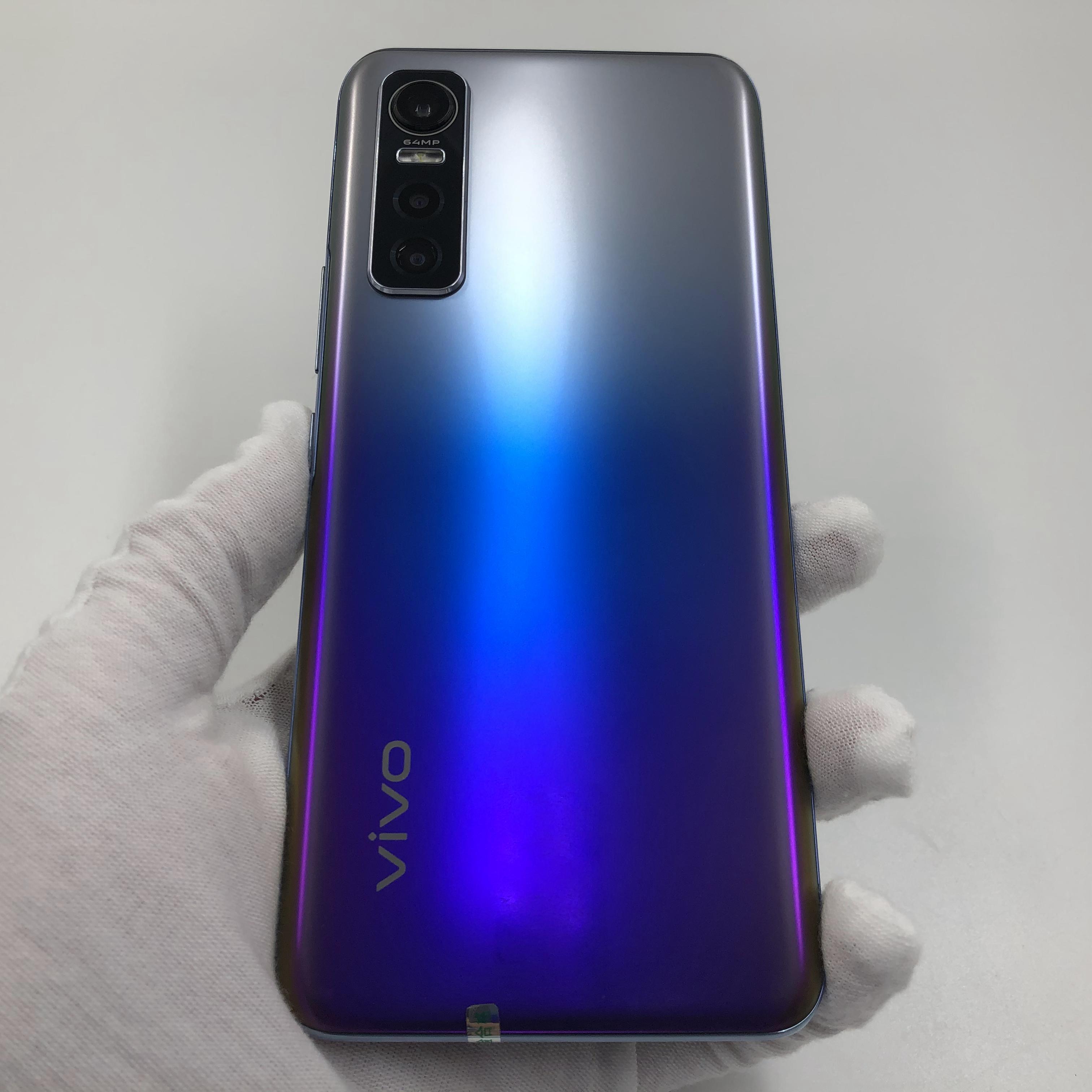 vivo【S7e 5G】5G全网通 幻砂星海 8G/128G 国行 9成新 真机实拍原包装盒+配件