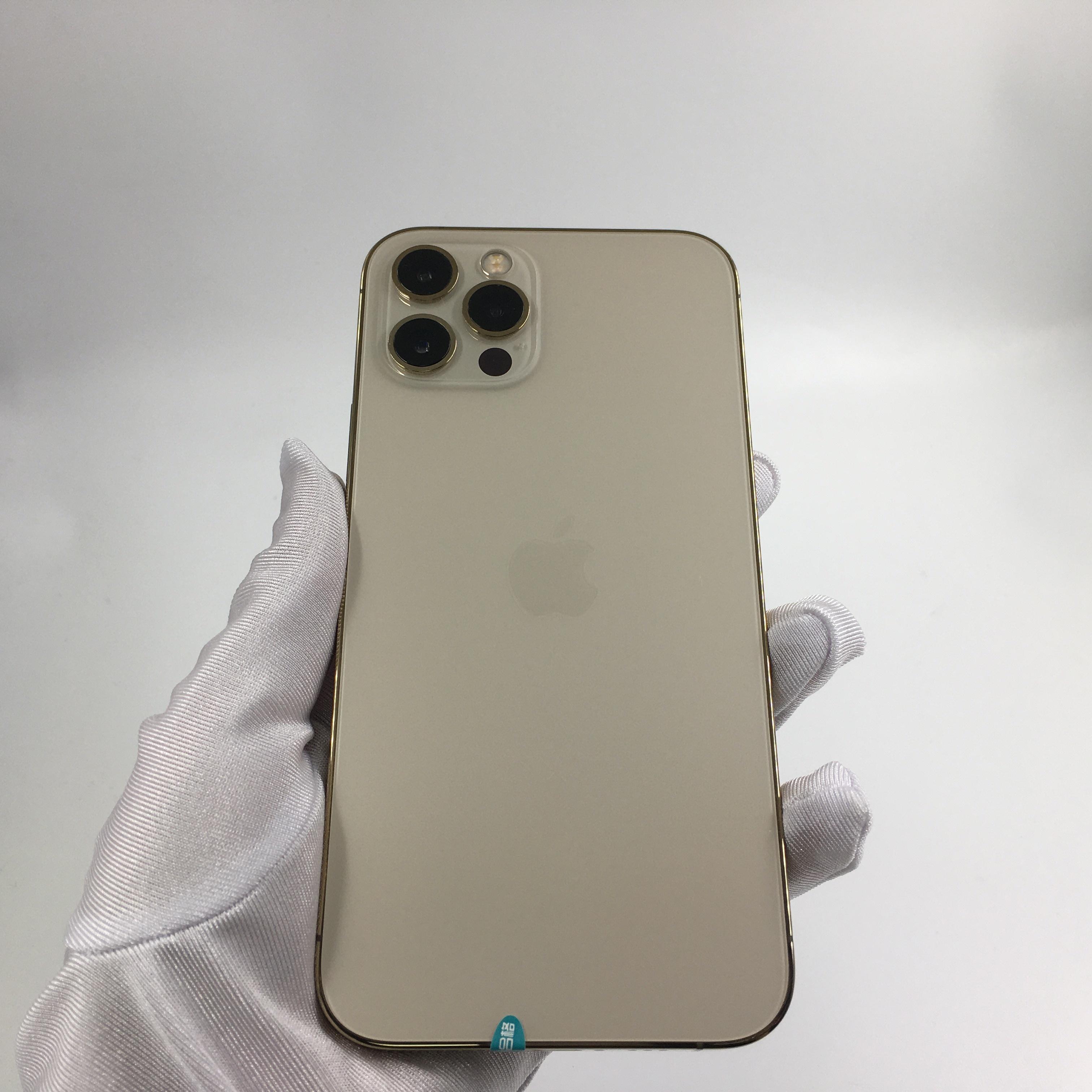 苹果【iPhone 12 Pro】5G全网通 金色 128G 国行 99新 128G真机实拍