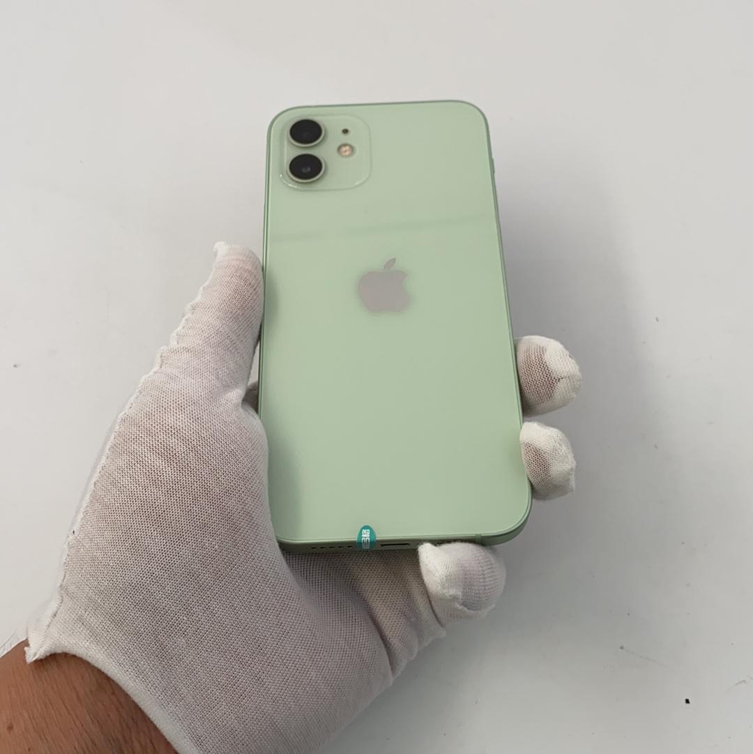 苹果【iPhone 12】5G全网通 绿色 64G 国行 95新