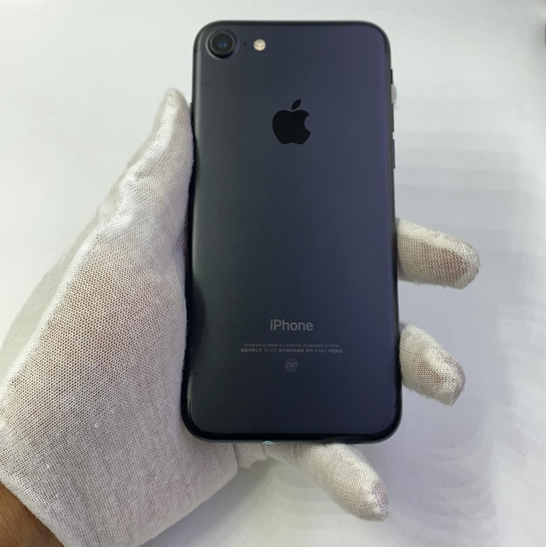苹果【iPhone 7】4G全网通 黑色 32G 国行 8成新