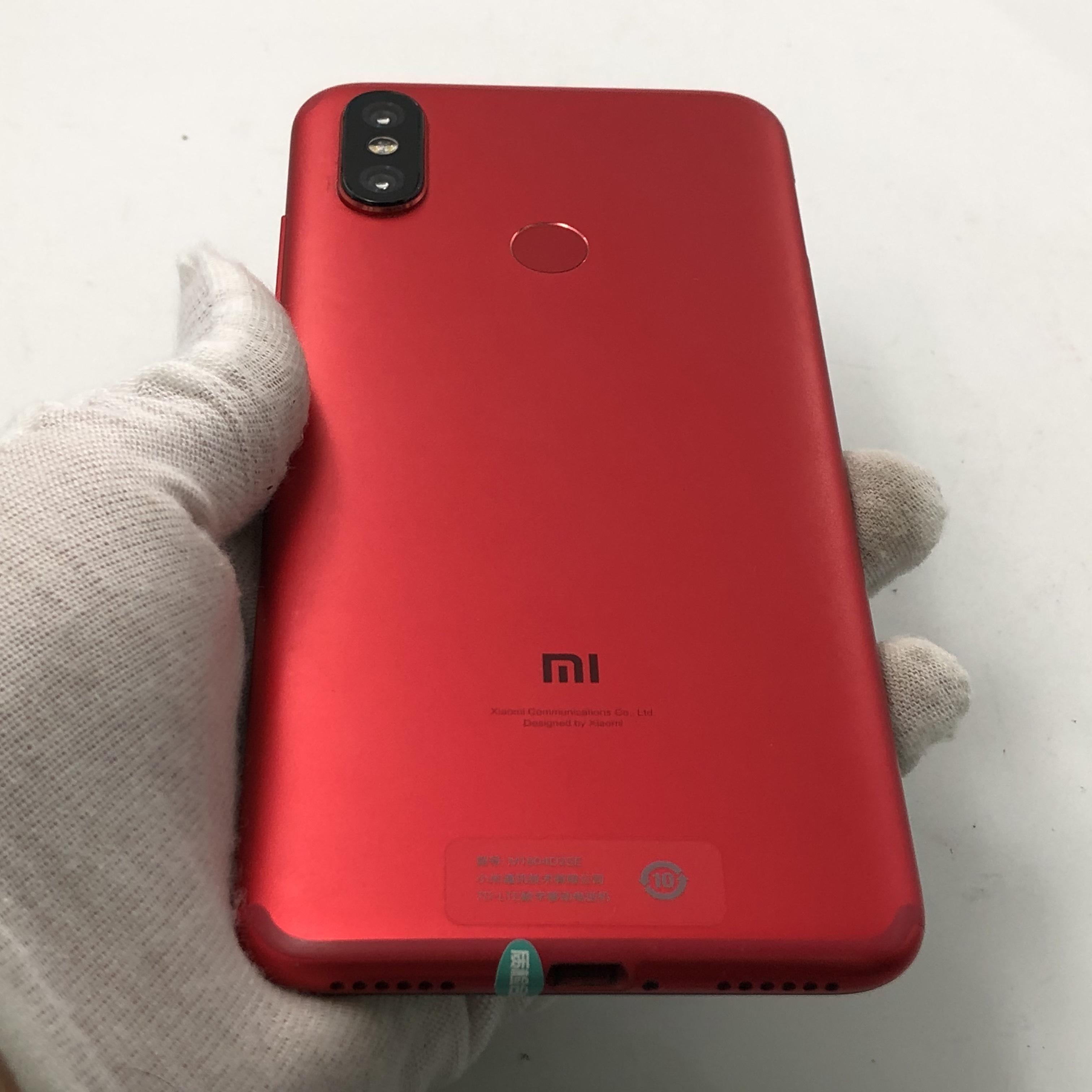 小米【小米 6X】4G全网通 红色 4G/64G 国行 95新