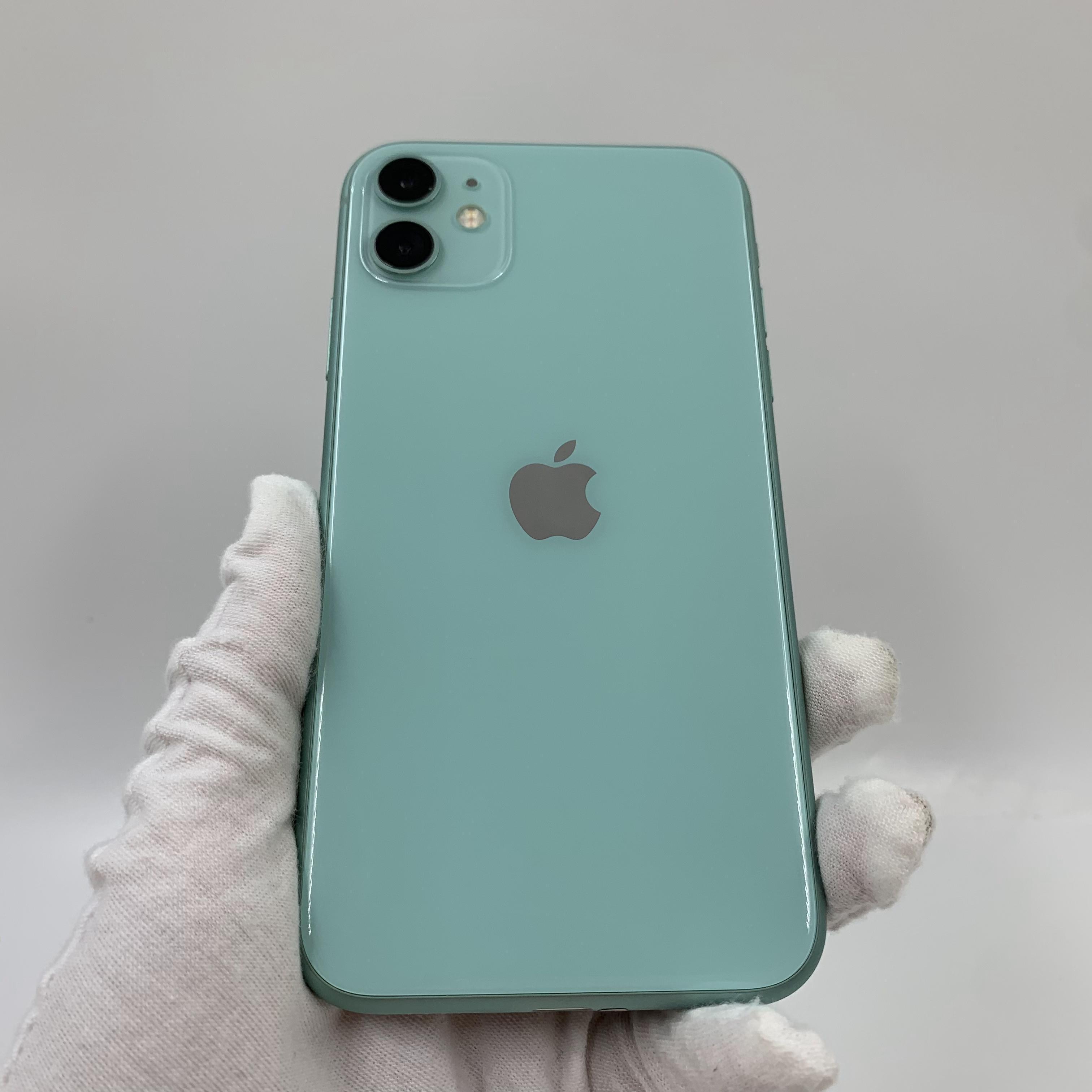 苹果【iPhone 11】4G全网通 绿色 128G 国行 99新 真机实拍