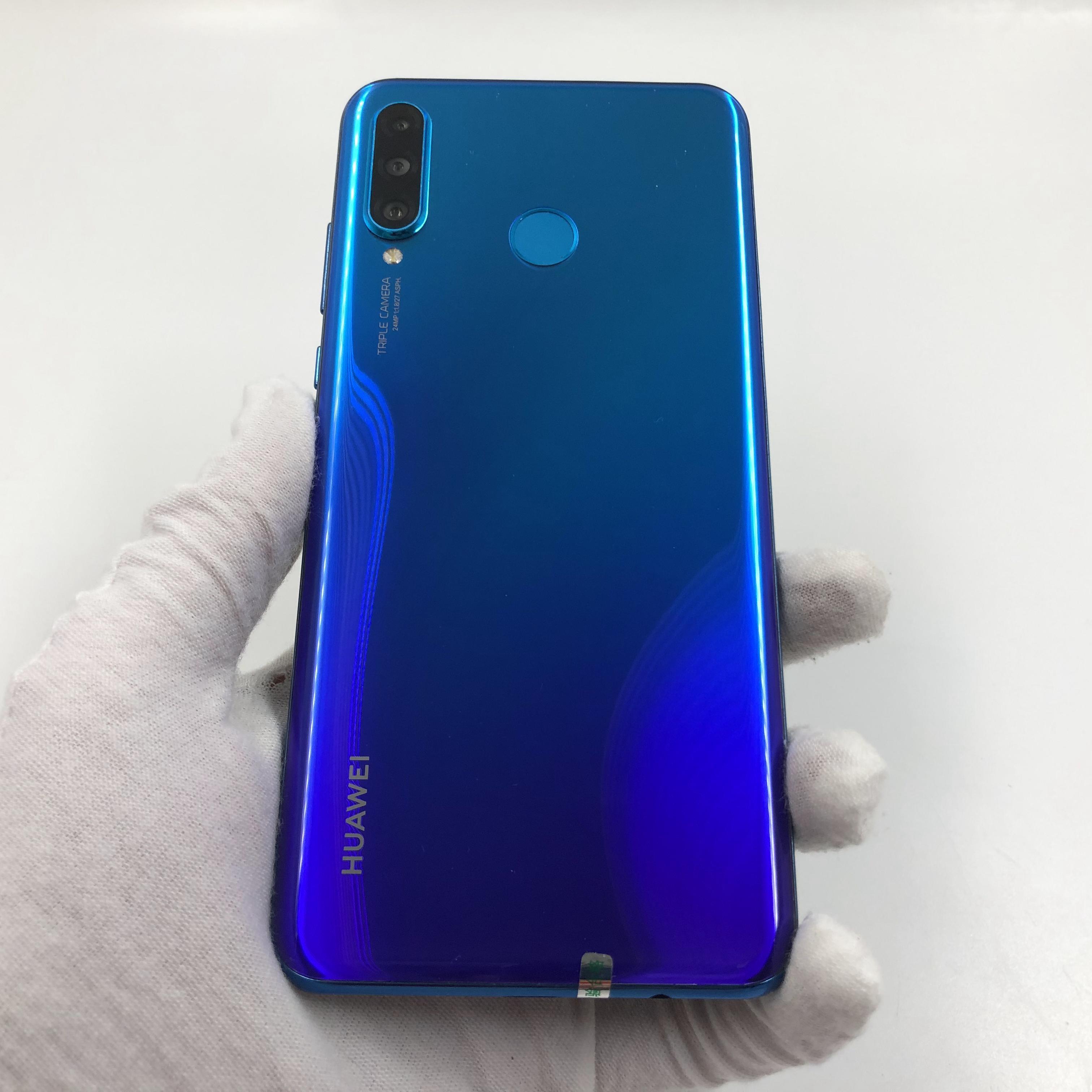华为【nova 4e】4G全网通 蓝色 6G/128G 国行 8成新 真机实拍