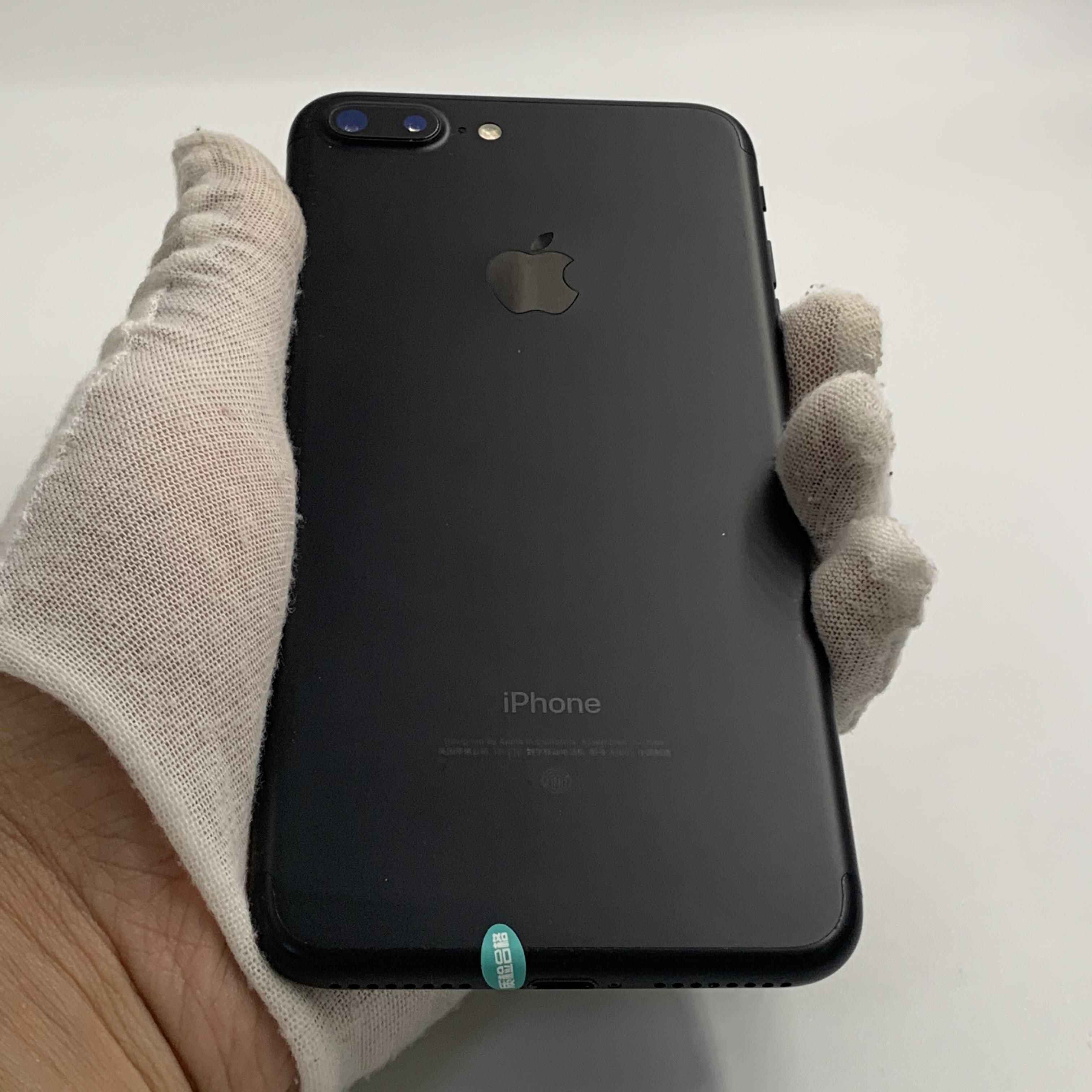苹果【iPhone 7 Plus】4G全网通 黑色 32G 国行 95新